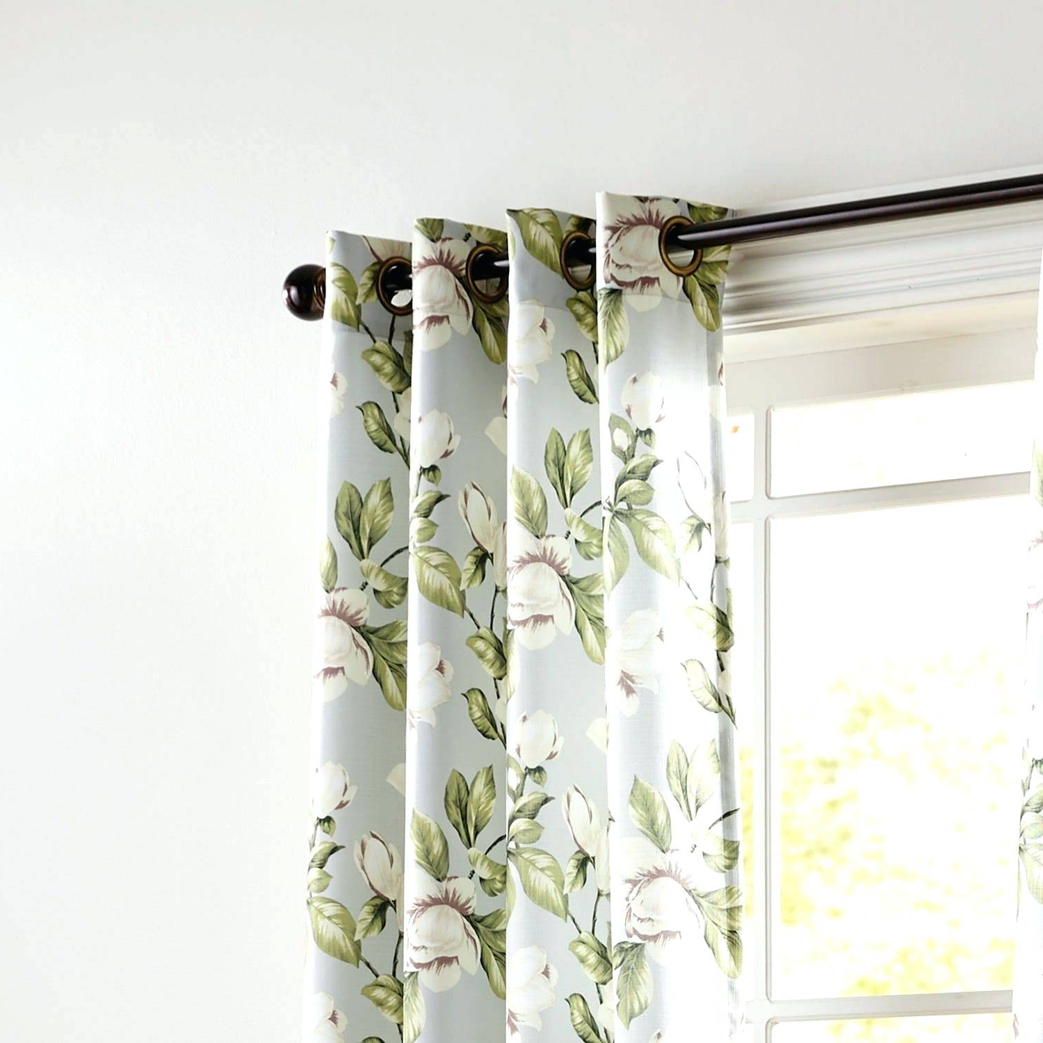 Copper Grove Speedwell Grommet Window Curtain Panels Pertaining To Newest Gray Grommet Curtains – Sparkchess (View 6 of 20)