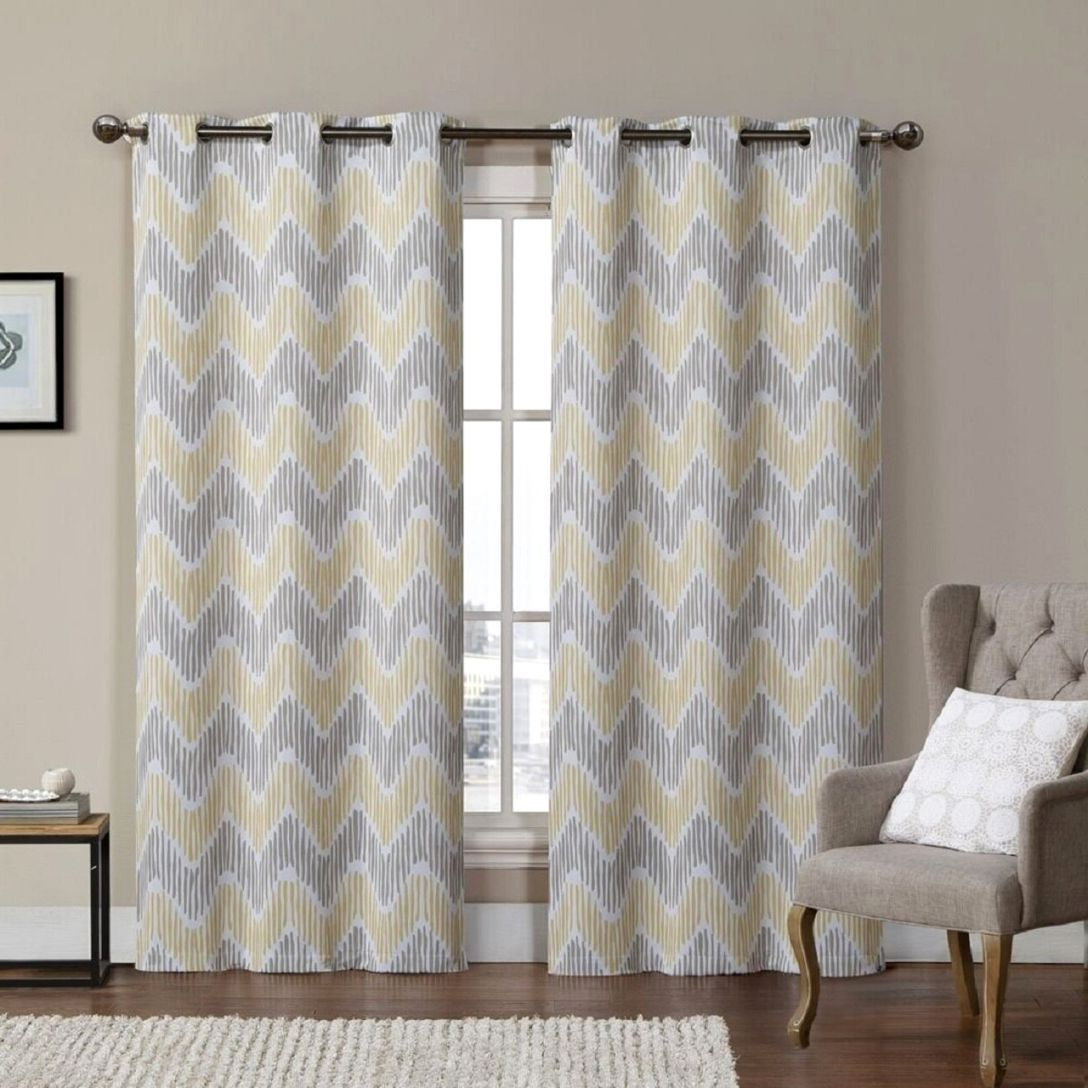 Copper Grove Speedwell Grommet Window Curtain Panels Regarding Best And Newest Comfort Yellow Grommet Curtains – Thomasjordi (View 7 of 20)
