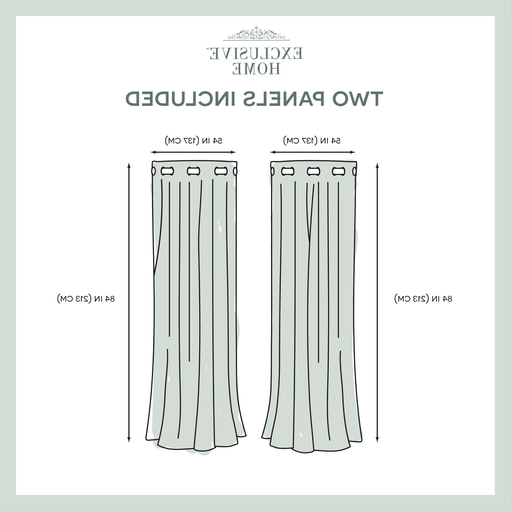 Current Ati Home Wilshire Burnout Grommet Top Curtain Panel Pair Intended For Wilshire Burnout Grommet Top Curtain Panel Pairs (View 15 of 20)