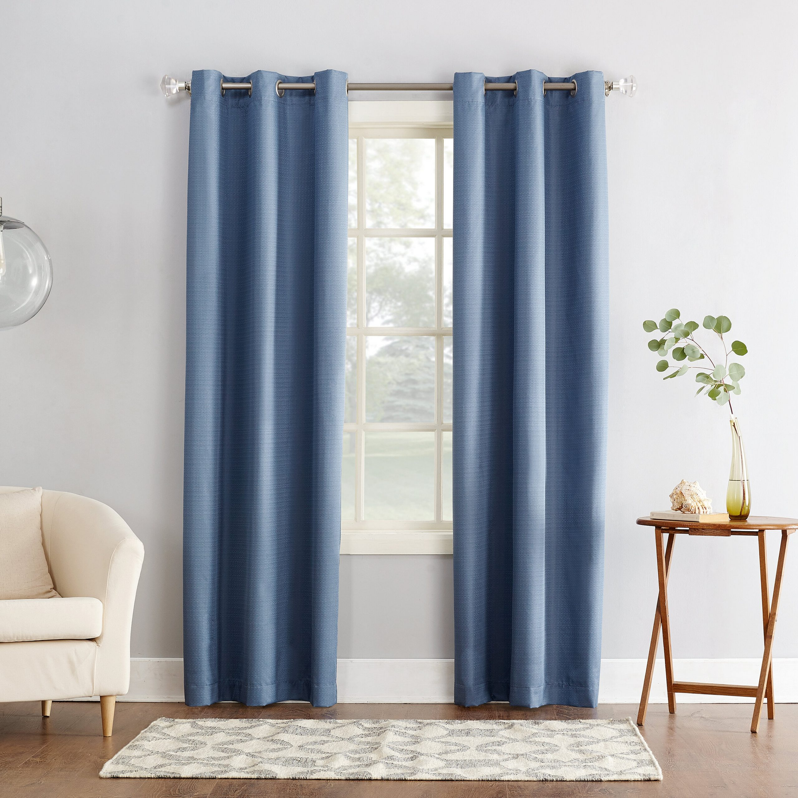 Current Cooper Textured Solid Room Darkening Thermal Grommet Single Curtain Panel Inside Cooper Textured Thermal Insulated Grommet Curtain Panels (View 13 of 20)