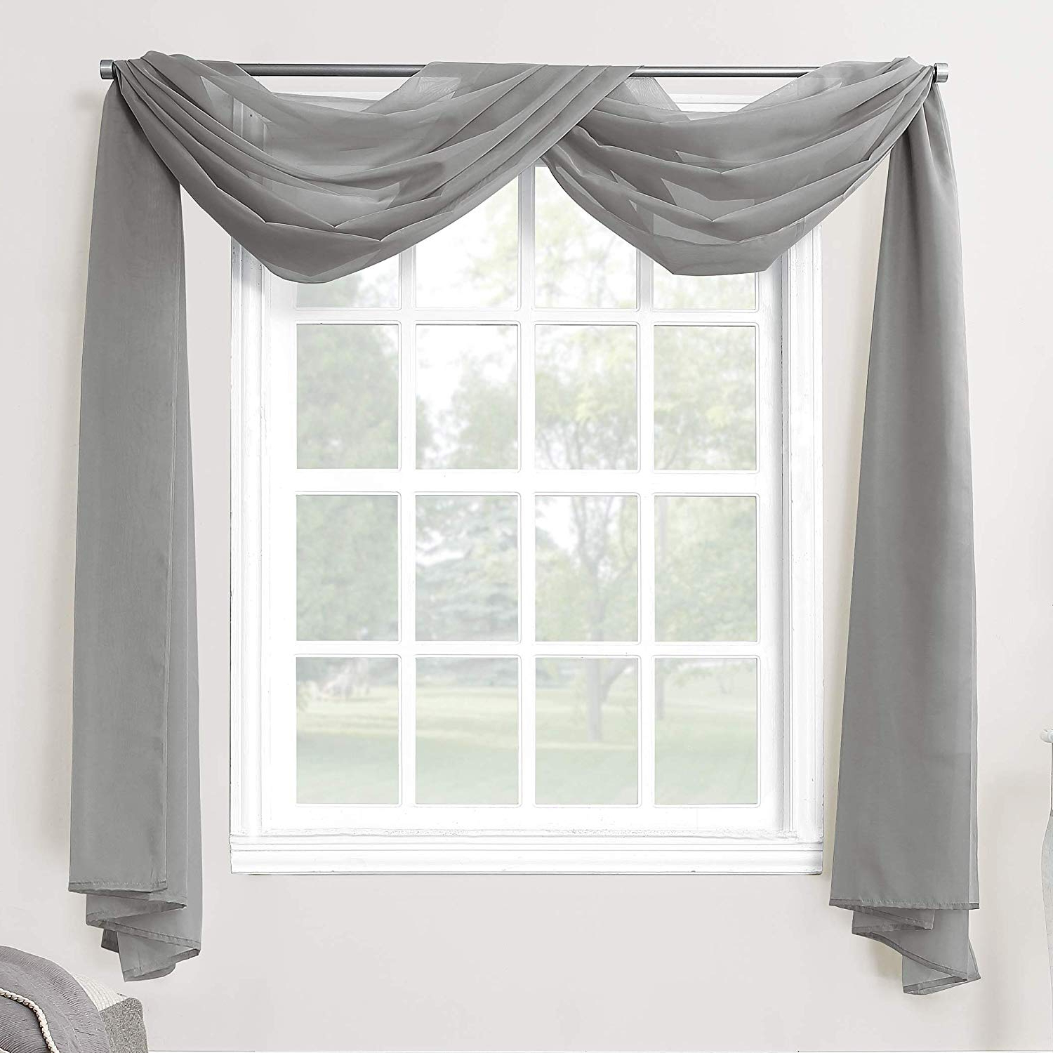 Current Emily Sheer Voile Single Curtain Panels Throughout No (View 15 of 20)