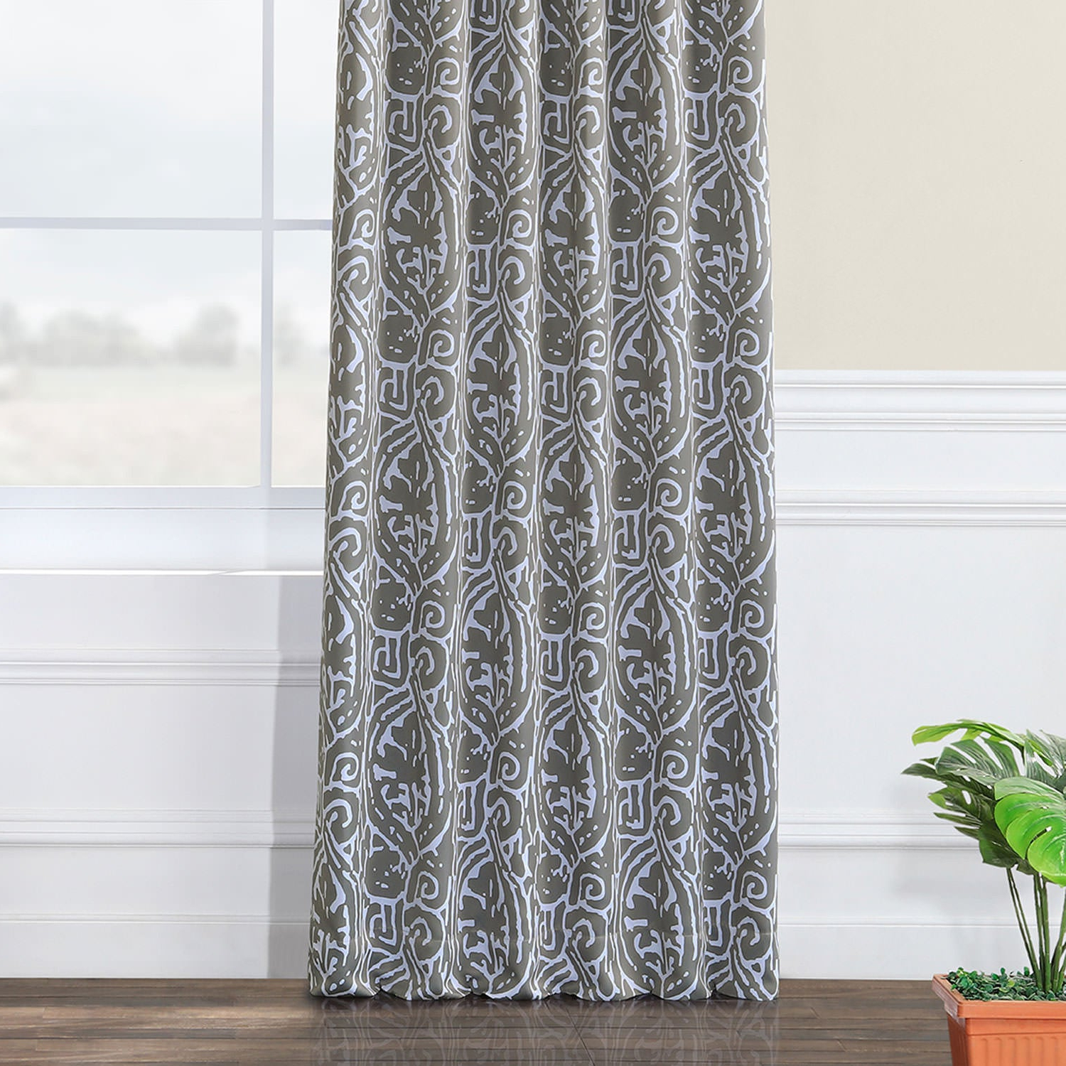 Current Exclusive Fabrics Abstract Blackout Curtain Panel Pair Pertaining To Abstract Blackout Curtain Panel Pairs (View 9 of 20)