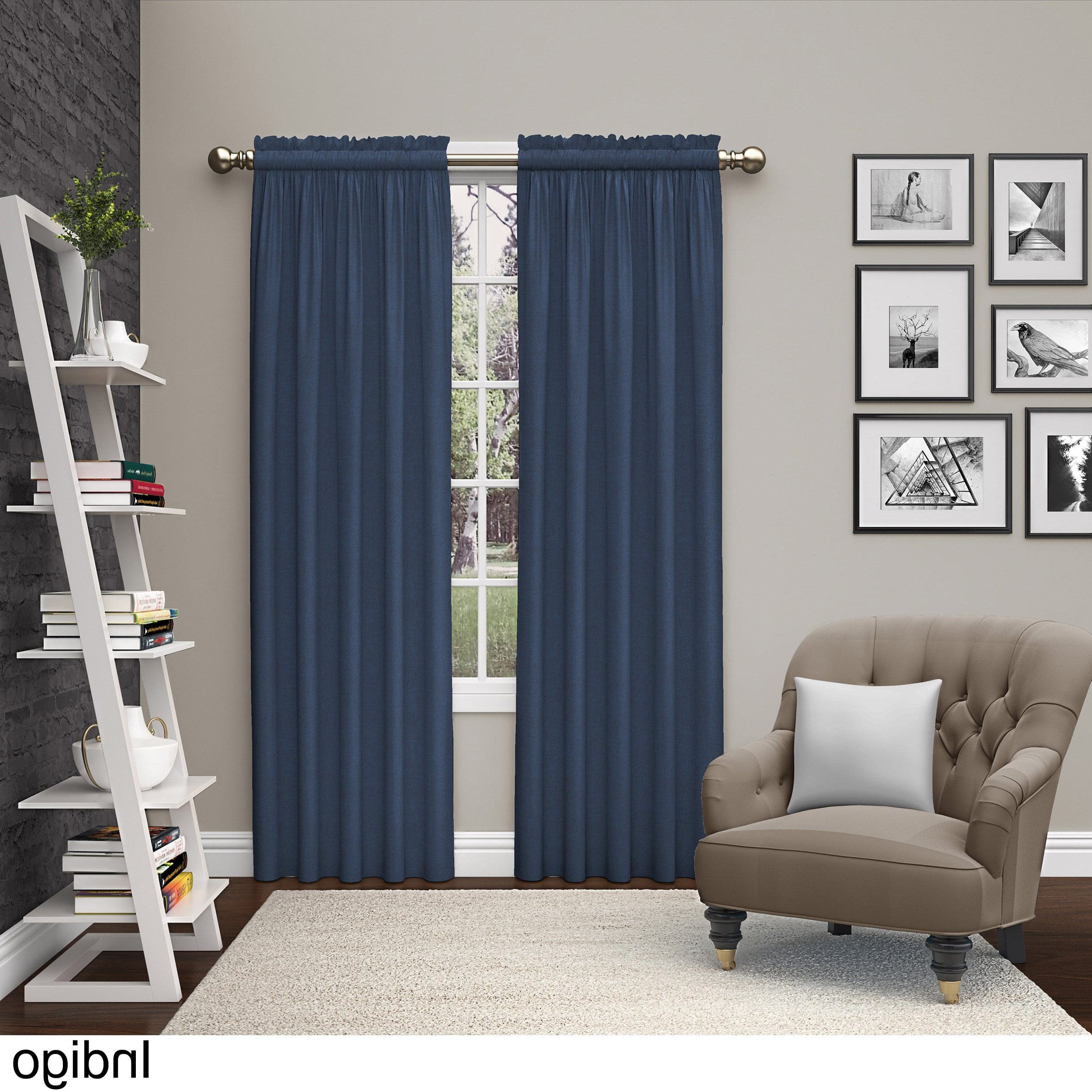 Curtain Panel Pairs In Widely Used Pairs To Go Teller 2 Pack Window Curtain Panel Pairs (View 2 of 20)