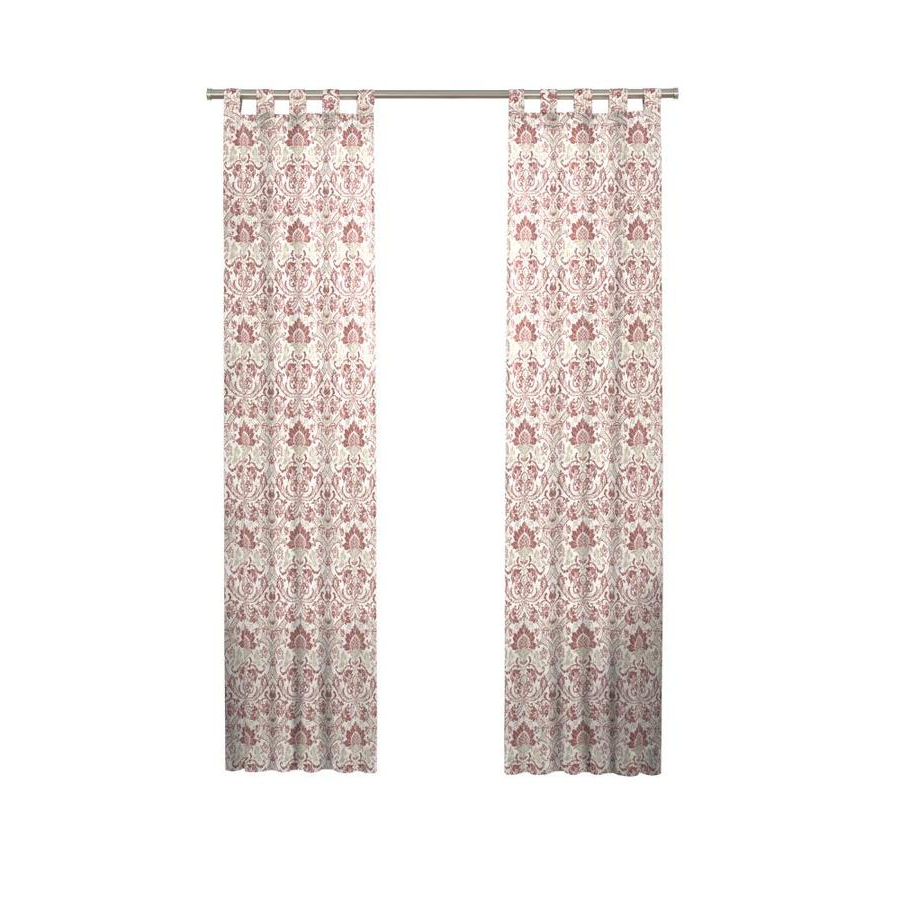 Curtain Panel Pairs Inside Well Liked Pairs To Go Halford 63 In Cinnabar Cotton Light Filtering (View 17 of 20)