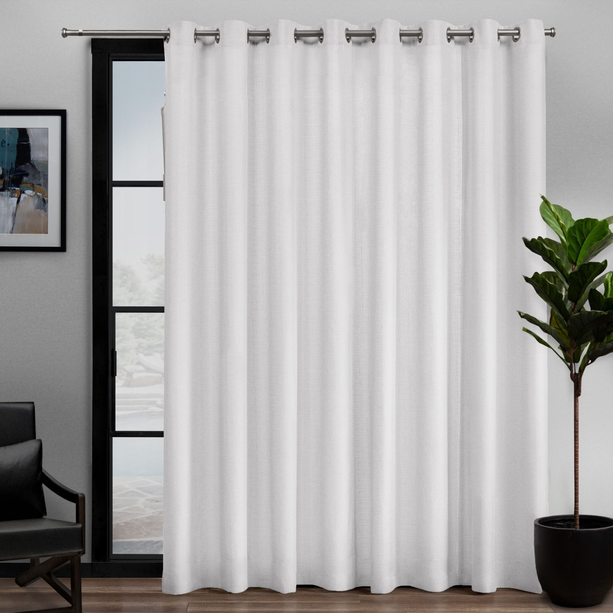 Davis Patio Grommet Top Single Curtain Panels In Most Recent Ati Home Loha Patio Grommet Top Single Curtain Panel – 108x (View 2 of 20)