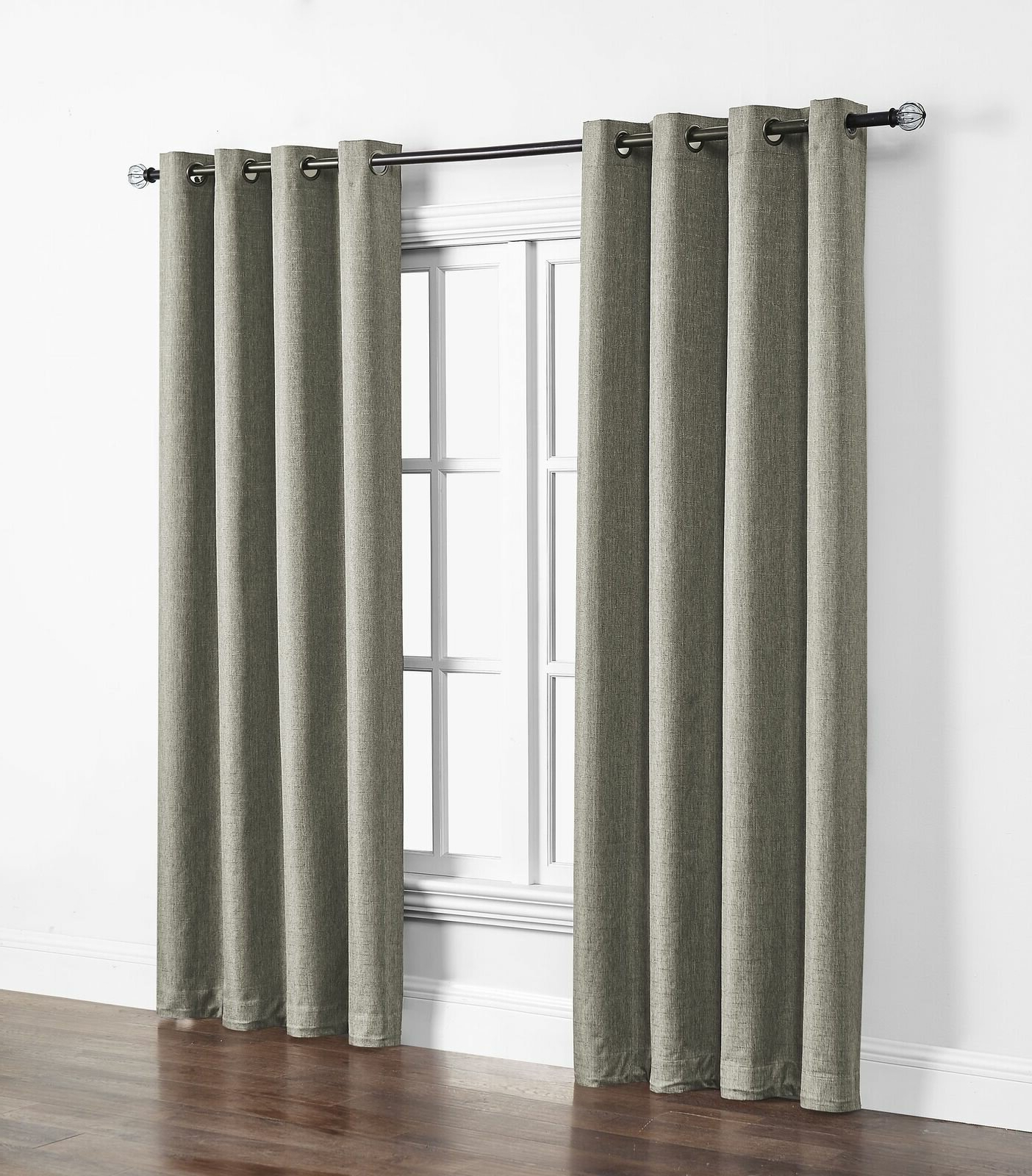 Davis Patio Grommet Top Single Curtain Panels In Newest Kali Solid Indoor/outdoor Polyester Max Blackout Thermal Single Curtain  Panel (View 6 of 20)