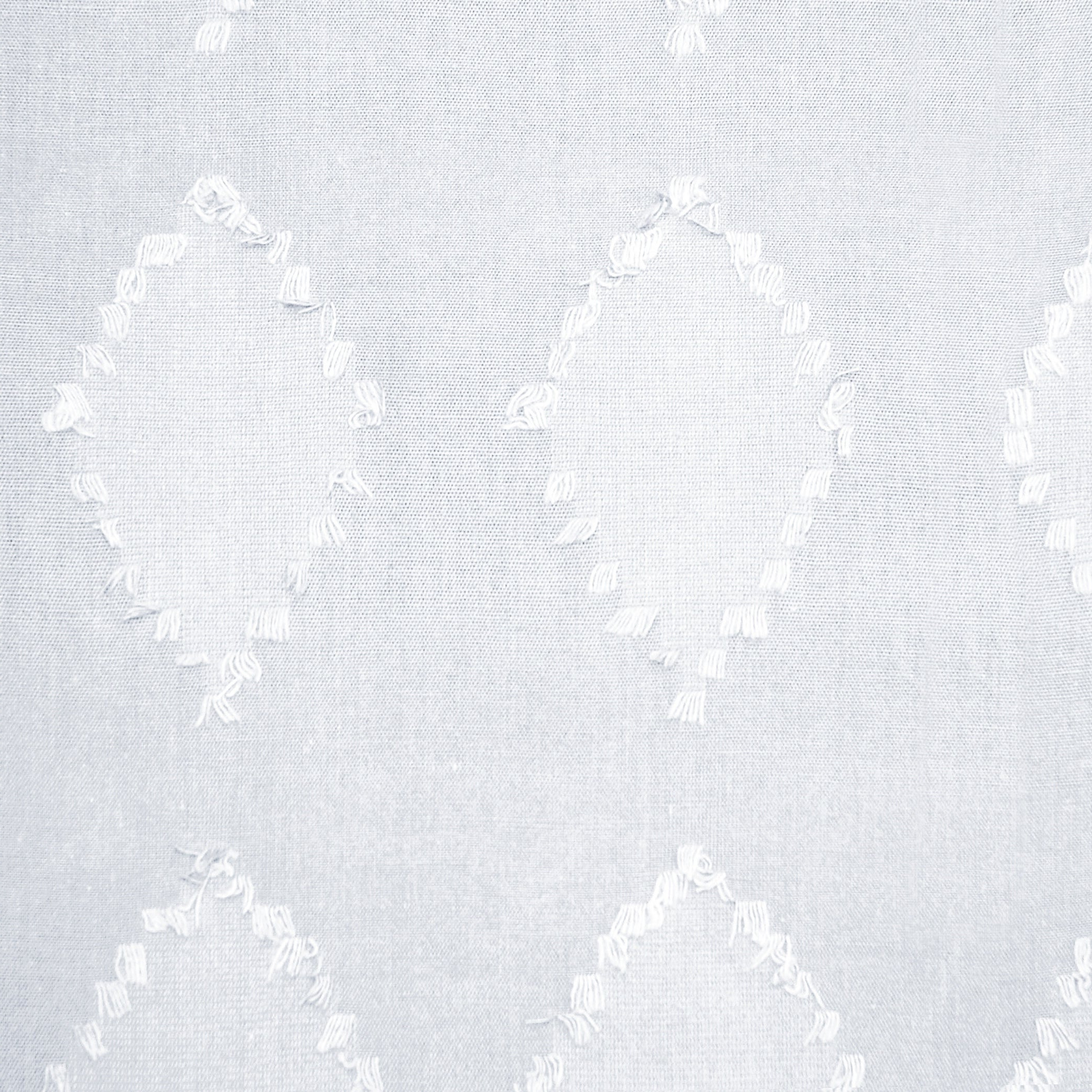Details About Archaeo Diamond Fray Cotton Single Curtain Panel With Regard To Most Current Archaeo Washed Cotton Twist Tab Single Curtain Panels (View 17 of 20)