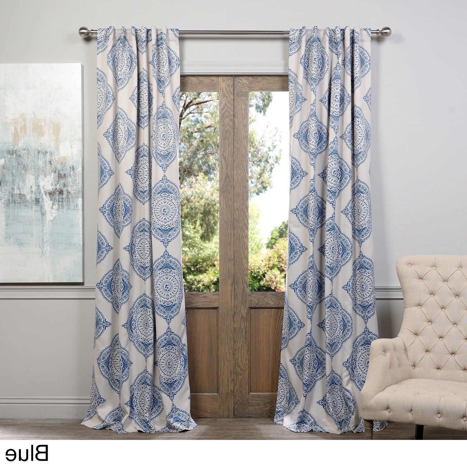 Details About Moroccan Style Thermal Insulated Blackout Curtain Panel Pair For Best And Newest Moroccan Style Thermal Insulated Blackout Curtain Panel Pairs (View 10 of 20)