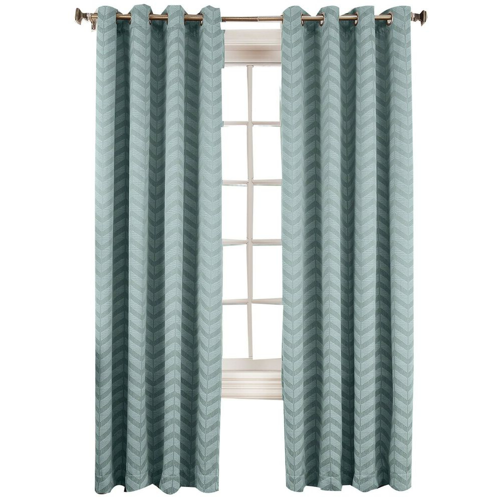 Ebay With Nantahala Rod Pocket Room Darkening Patio Door Single Curtain Panels (View 19 of 20)