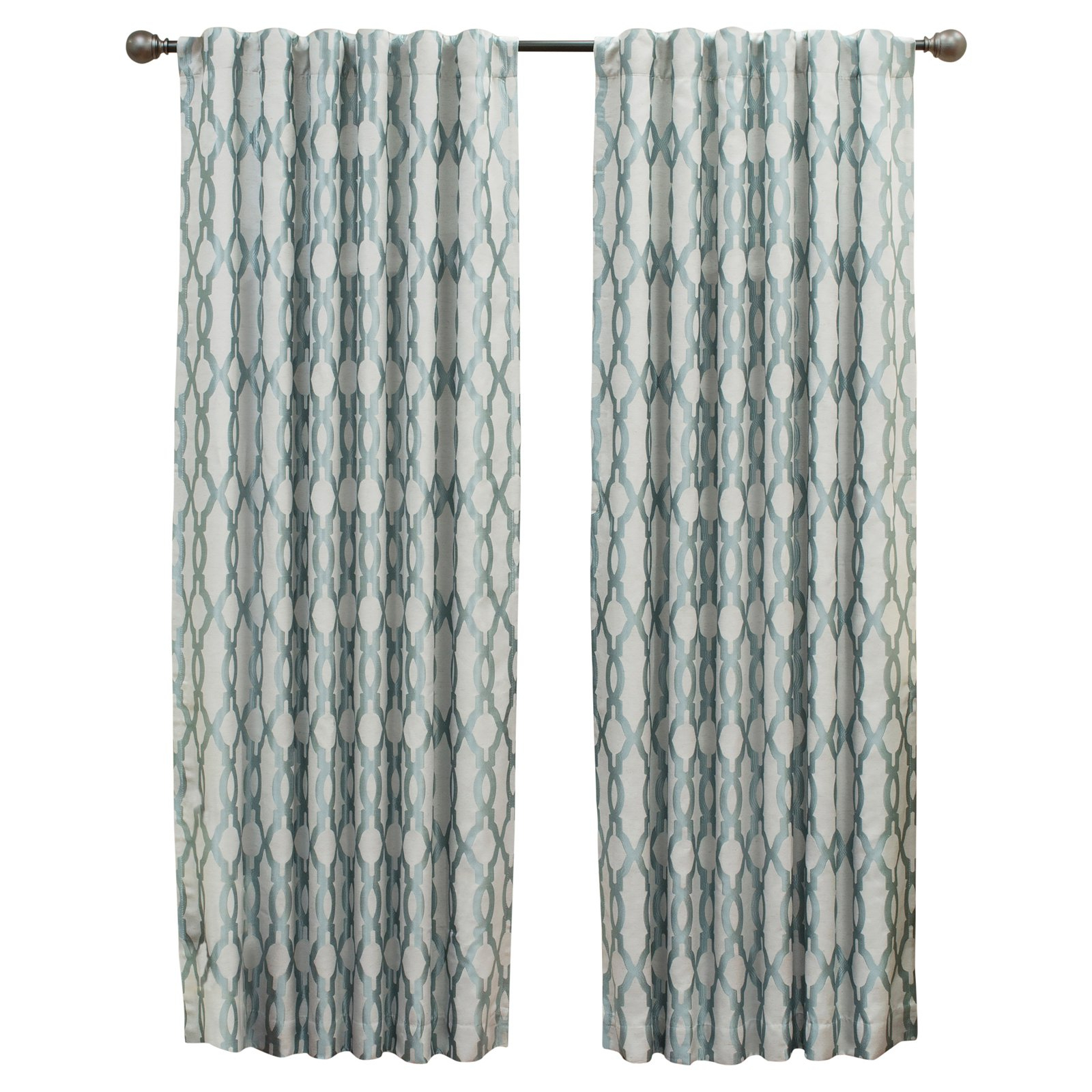 Eclipse Caprese Thermalayer Blackout Window Curtains Inside Widely Used Eclipse Dixon Thermalayer Blackout Curtain Robins Egg Blue (Gallery 17 of 20)