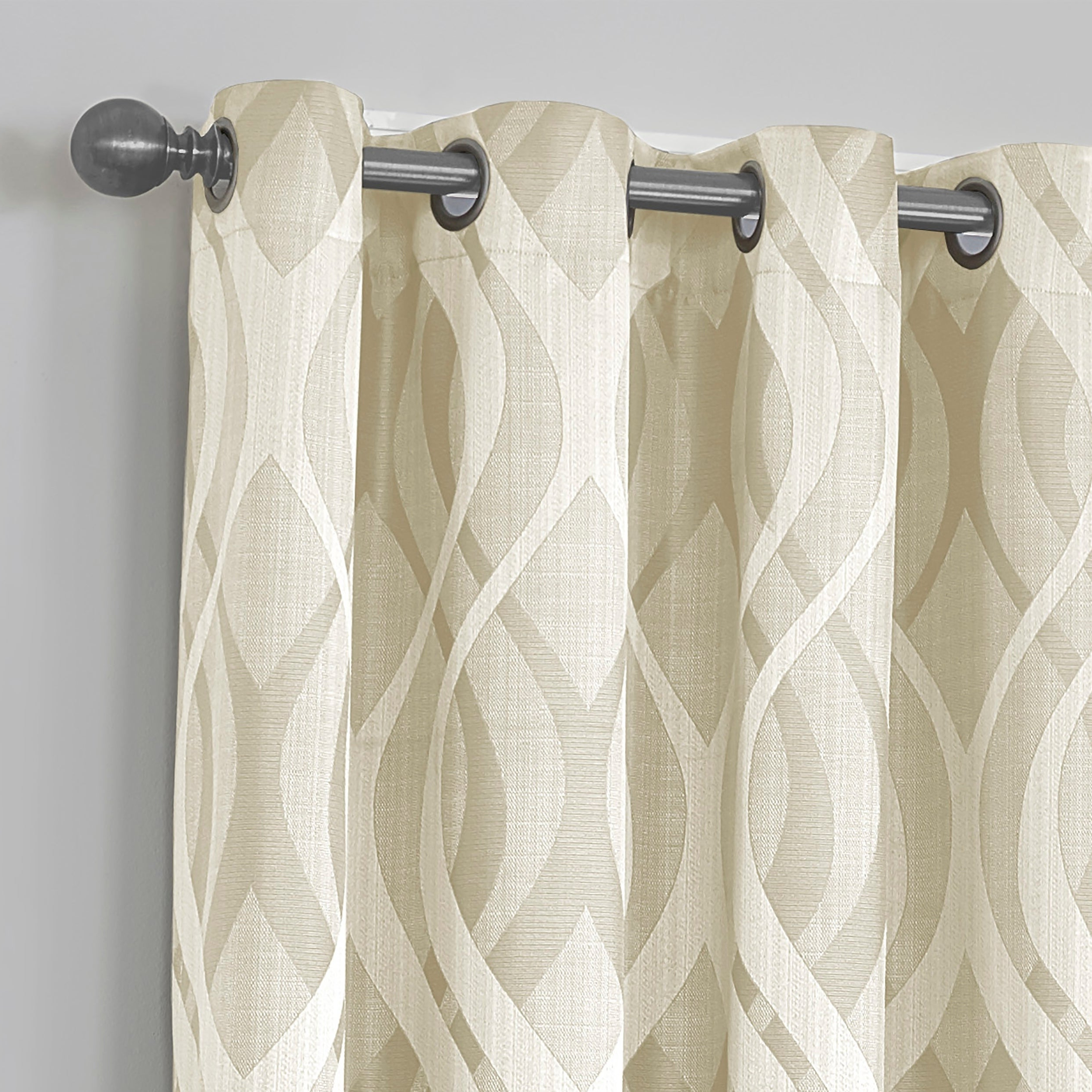 Eclipse Caprese Thermalayer Blackout Window Curtains Throughout Latest Eclipse Caprese Thermalayer Blackout Window Curtain (Gallery 6 of 20)