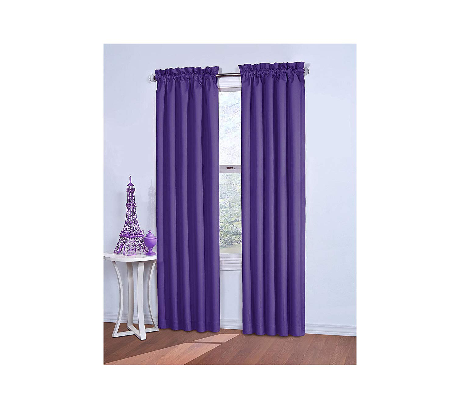 Eclipse Corinne Blackout Window Curtain Purple 42x84 For Latest Eclipse Corinne Thermaback Curtain Panels (View 14 of 20)