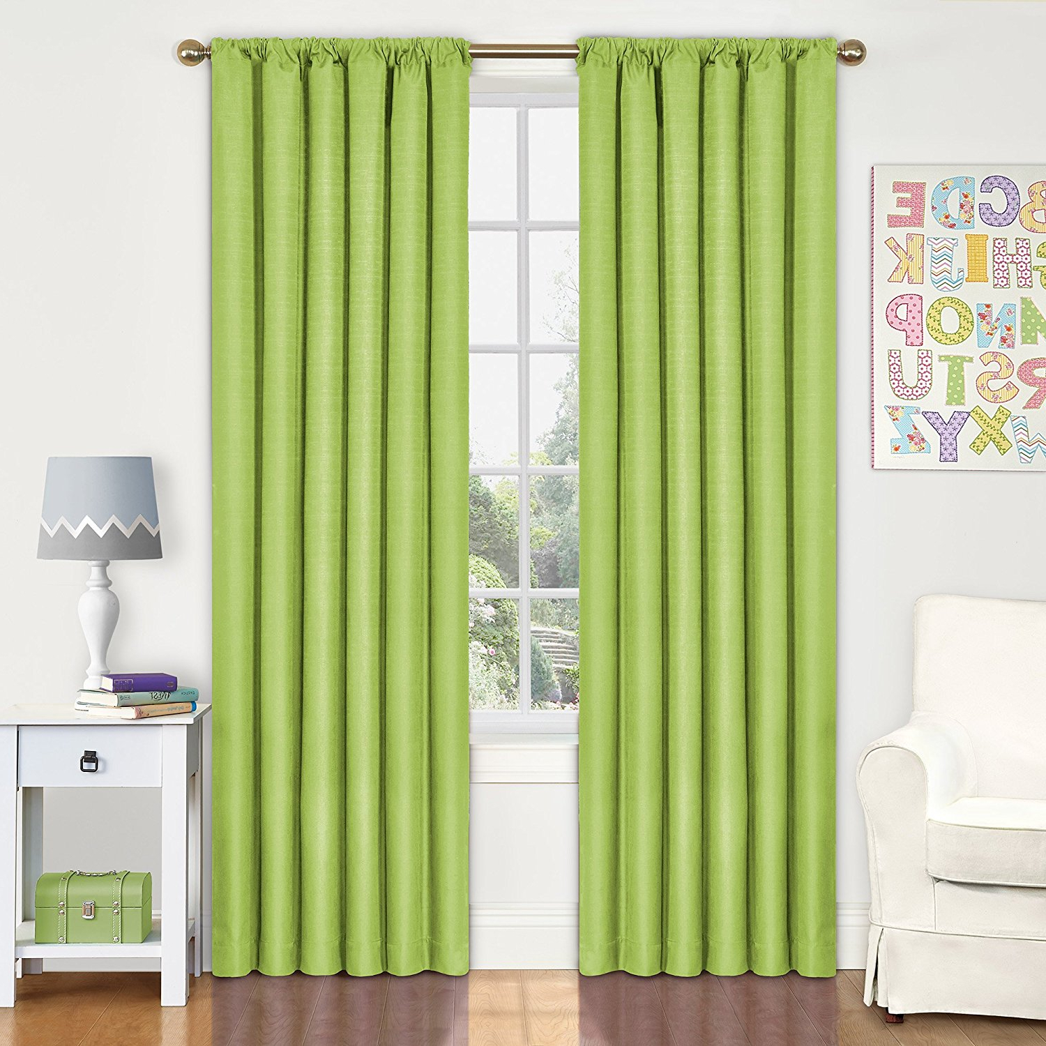 Eclipse Kendall Blackout Window Curtain Panels Intended For 2020 Eclipse 10707042x084rby Kendall 42 Inch84 Inch Thermaback Blackout Single Panel, Rubyeclipse Curtains Ship From Us (View 14 of 20)