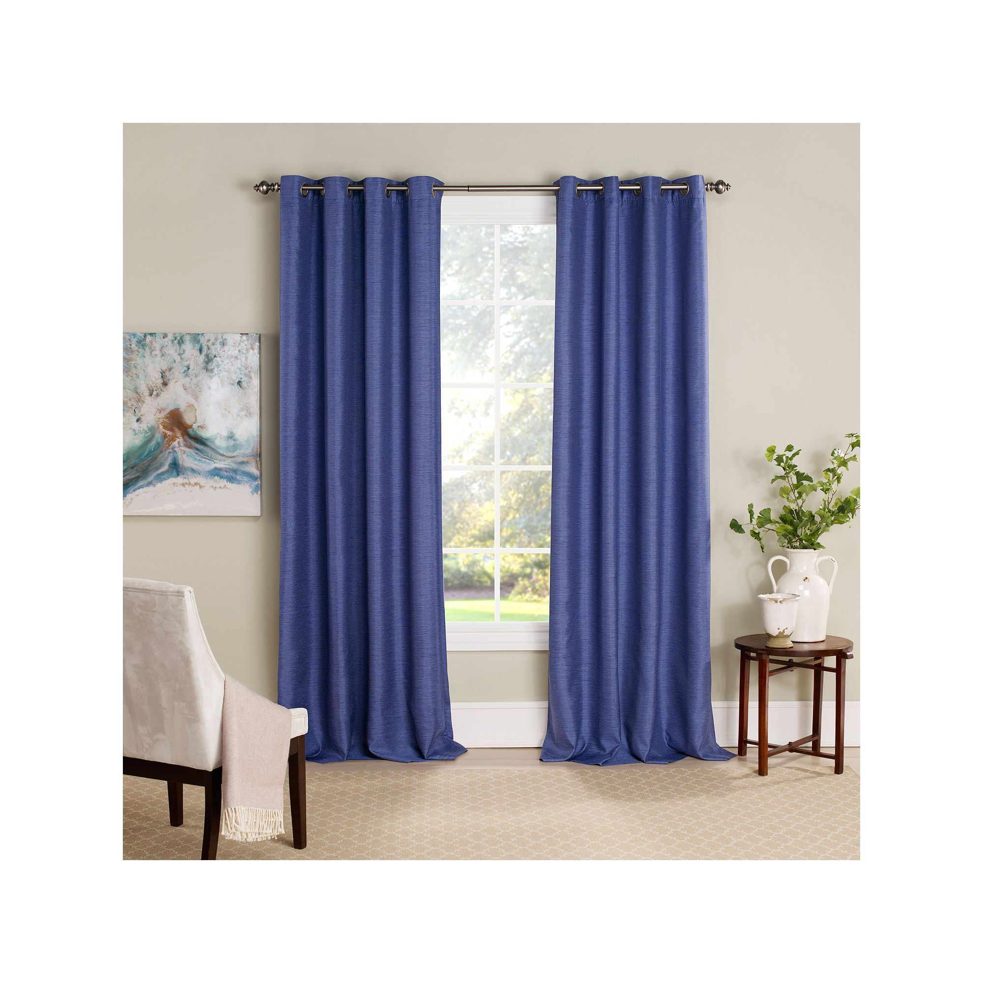 Eclipse Newport Blackout Curtain Panels With 2021 Eclipse Newport Blackout Window Curtain (View 14 of 20)