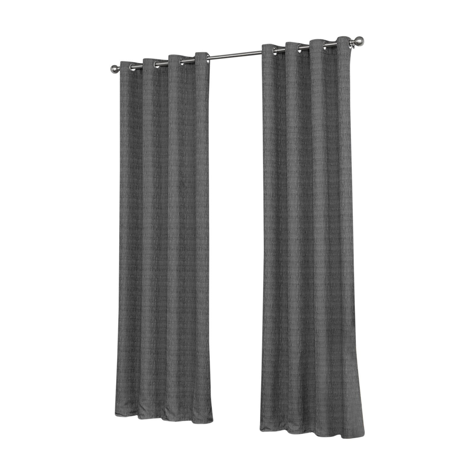 Eclipse Trevi Blackout Grommet Window Curtain Panels Intended For Well Known Eclipse Trevi Blackout Grommet Curtain (Gallery 8 of 20)