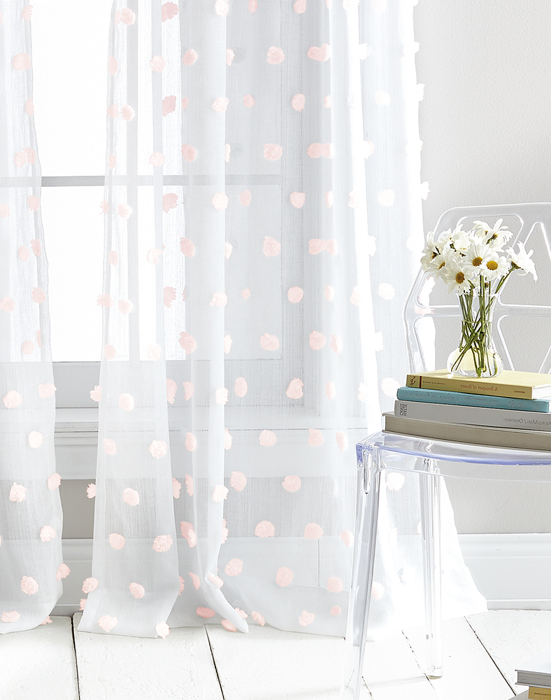 Ella Window Curtain Panels Throughout Latest Dkny Ella Sheer Window Curtain Panel Pair / Curtainworks (View 7 of 20)