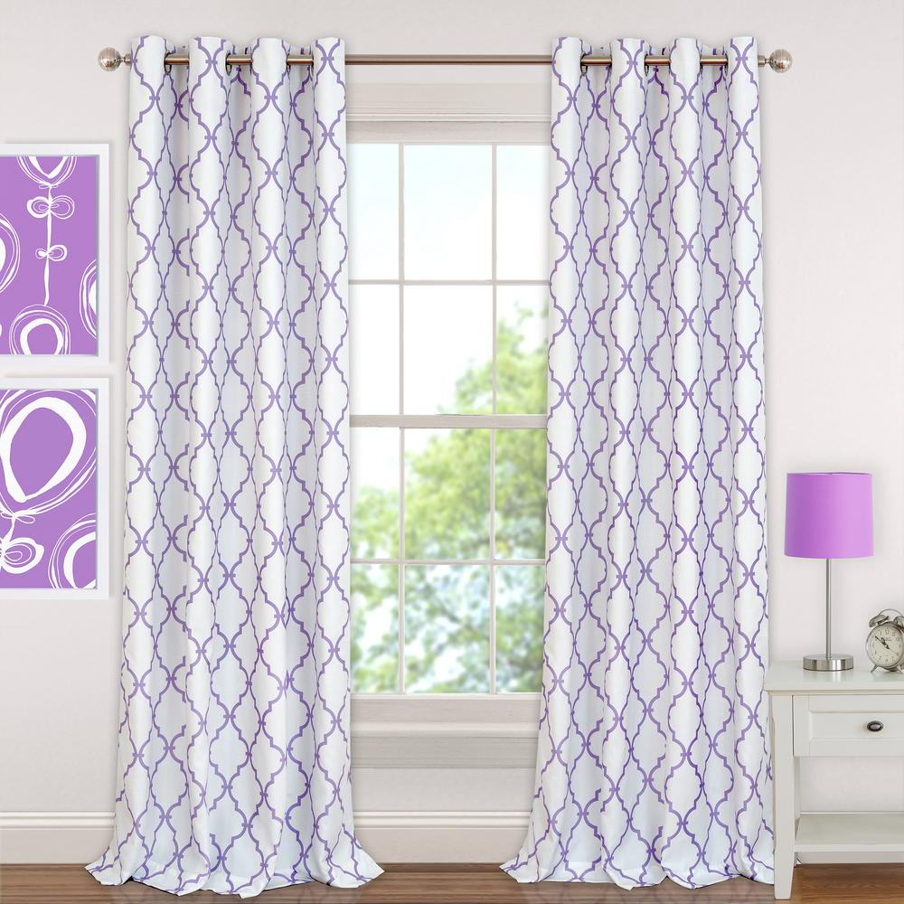 Elrene Aurora Kids Room Darkening Layered Sheer Curtains Intended For Famous Elrene Candice Kids Blackout Window Curtain (View 13 of 20)