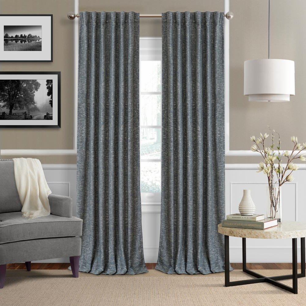 Elrene Colton Woven Room Darkening Window Curtain Within 2021 All Seasons Blackout Window Curtains (View 11 of 20)