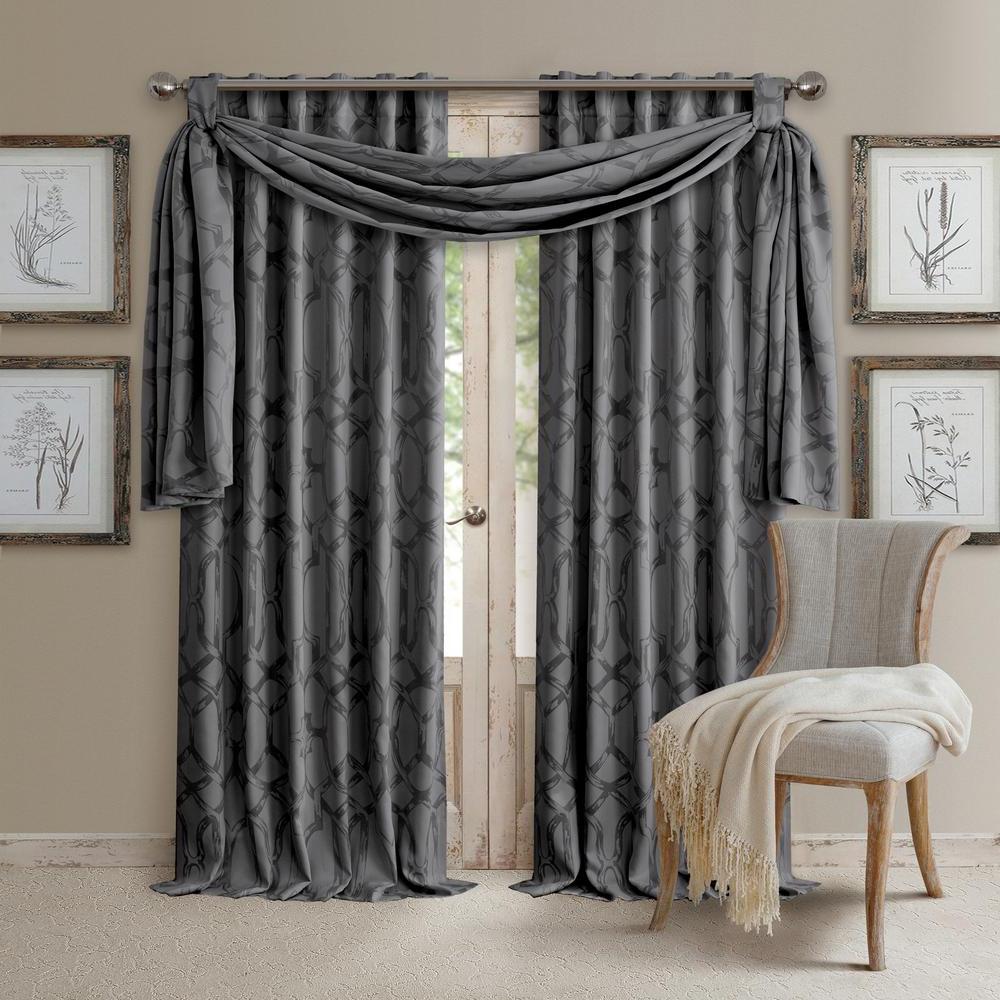 Elrene Darla Tonal Blackout Window Curtain In Well Liked All Seasons Blackout Window Curtains (View 12 of 20)