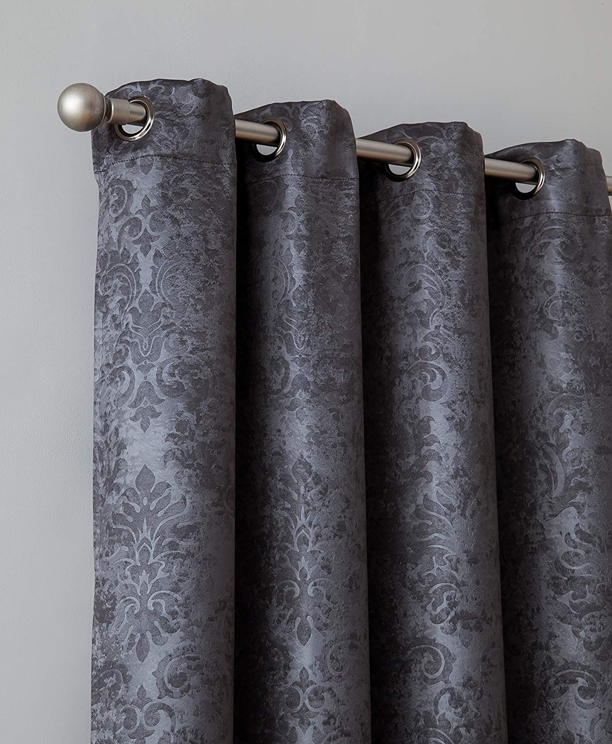 [%evelyn – Embossed Thermal Weaved Blackout Curtain With 8 Grommets – Room Darkening & Noise Reduction Fabric – Blocks Up To 97% Of Sunlight – Premium Regarding Favorite Embossed Thermal Weaved Blackout Grommet Drapery Curtains|embossed Thermal Weaved Blackout Grommet Drapery Curtains With Trendy Evelyn – Embossed Thermal Weaved Blackout Curtain With 8 Grommets – Room Darkening & Noise Reduction Fabric – Blocks Up To 97% Of Sunlight – Premium|most Popular Embossed Thermal Weaved Blackout Grommet Drapery Curtains For Evelyn – Embossed Thermal Weaved Blackout Curtain With 8 Grommets – Room Darkening & Noise Reduction Fabric – Blocks Up To 97% Of Sunlight – Premium|recent Evelyn – Embossed Thermal Weaved Blackout Curtain With 8 Grommets – Room Darkening & Noise Reduction Fabric – Blocks Up To 97% Of Sunlight – Premium Inside Embossed Thermal Weaved Blackout Grommet Drapery Curtains%] (View 15 of 20)