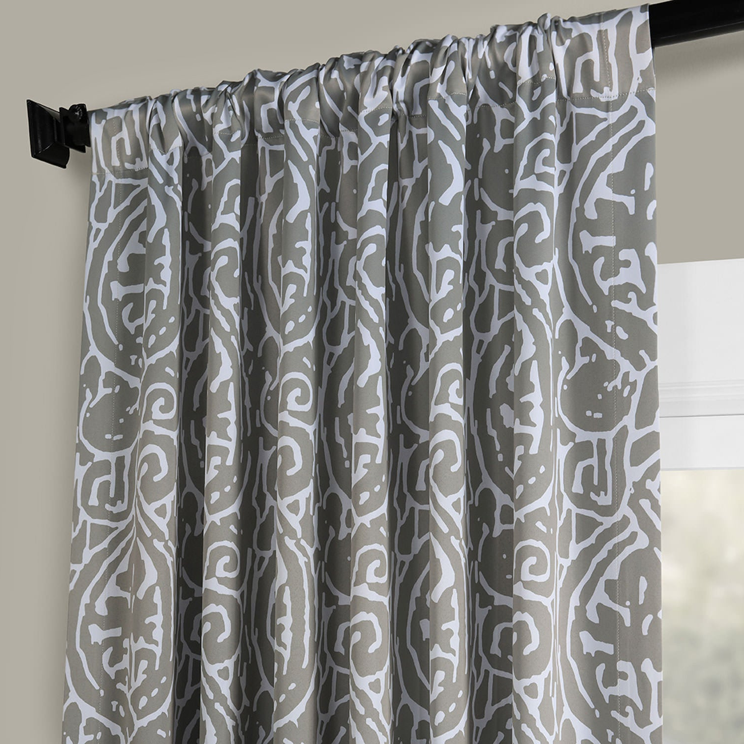 Exclusive Fabrics Abstract Blackout Curtain Panel Pair Pertaining To Best And Newest Abstract Blackout Curtain Panel Pairs (View 13 of 20)