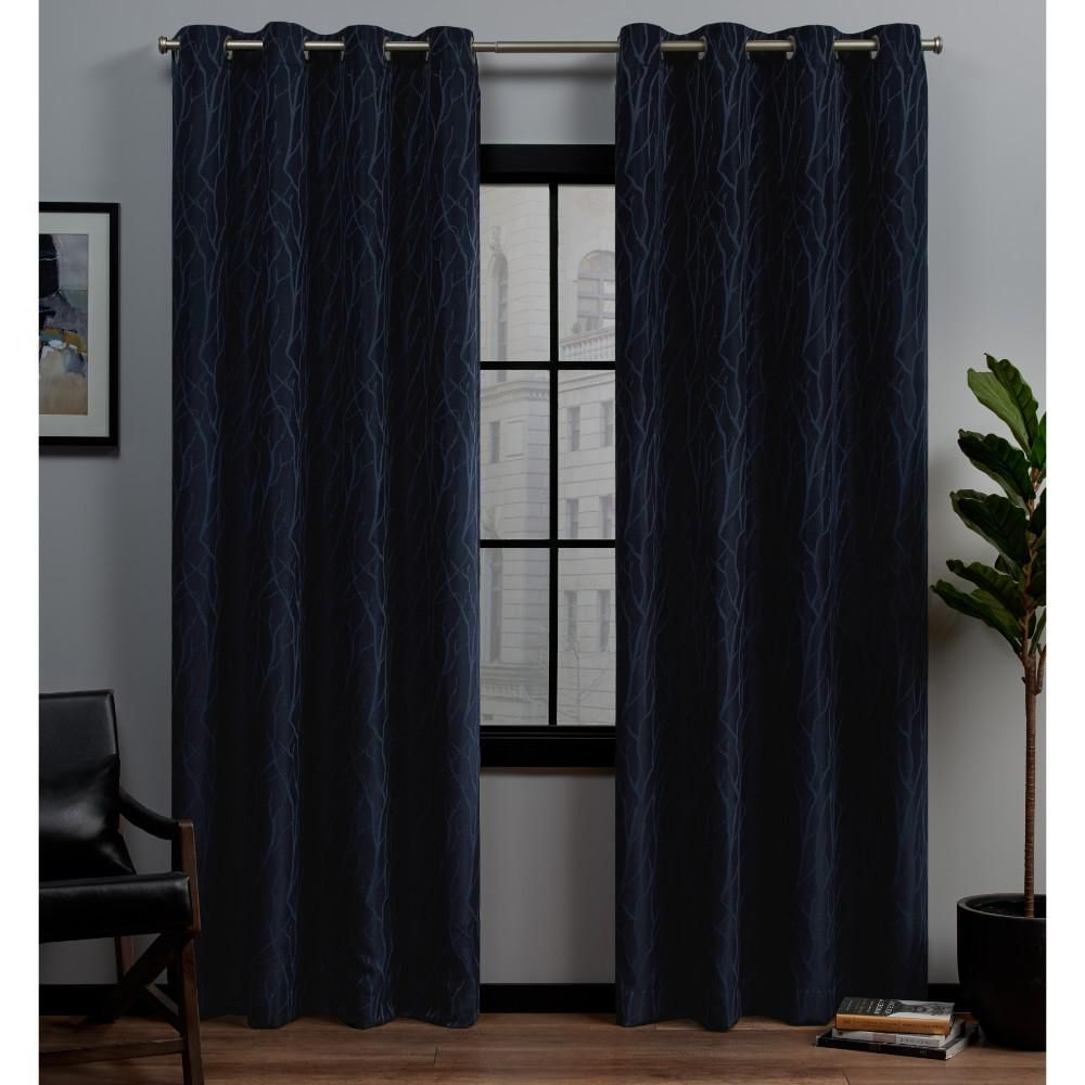 Exclusive Home Curtains Forest Hill 52 In. W X 96 In (View 7 of 20)
