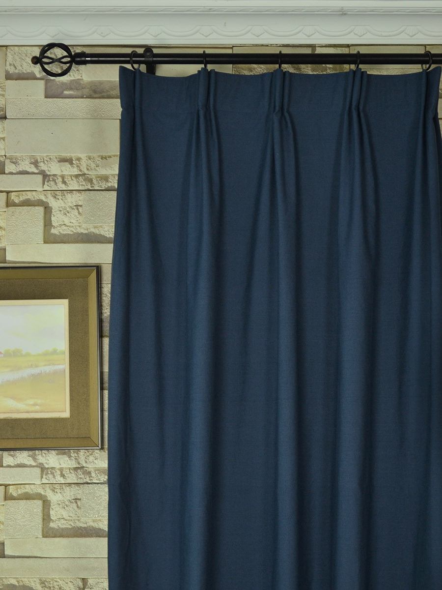Extra Wide Hudson Solid Versatile Pleat Curtains 100 – 120 With Most Recently Released Solid Cotton Pleated Curtains (View 3 of 20)