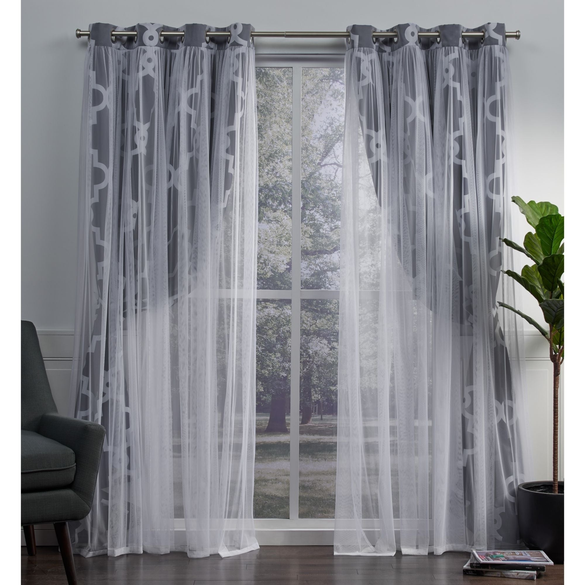 Famous Ati Home Alegra Thermal Woven Blackout Grommet Top Curtain Panel Pair Intended For Woven Blackout Grommet Top Curtain Panel Pairs (Gallery 19 of 20)