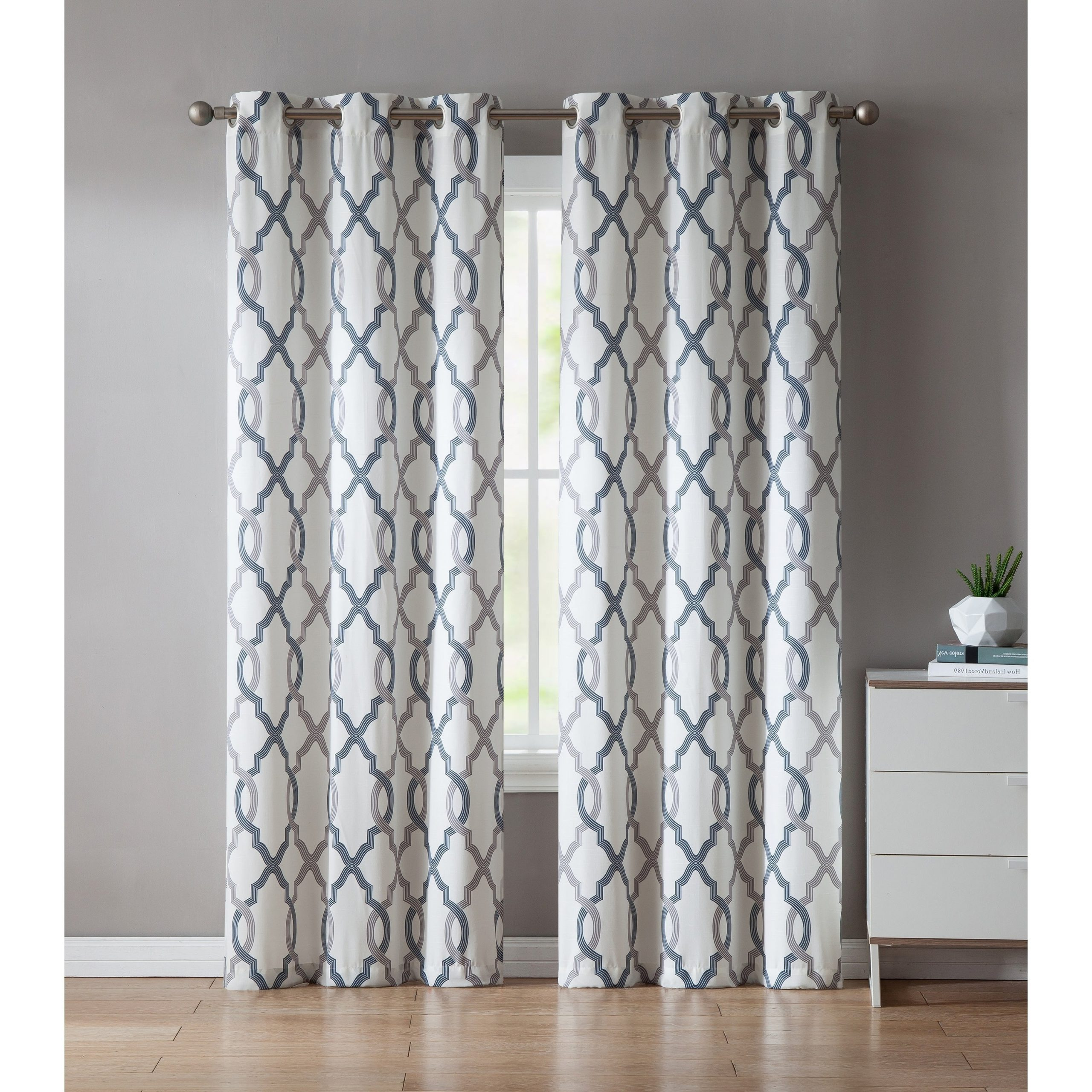 Famous Caldwell Curtain Panel Pairs In Vcny Home Caldwell Curtain Panel Pair (Gallery 1 of 20)