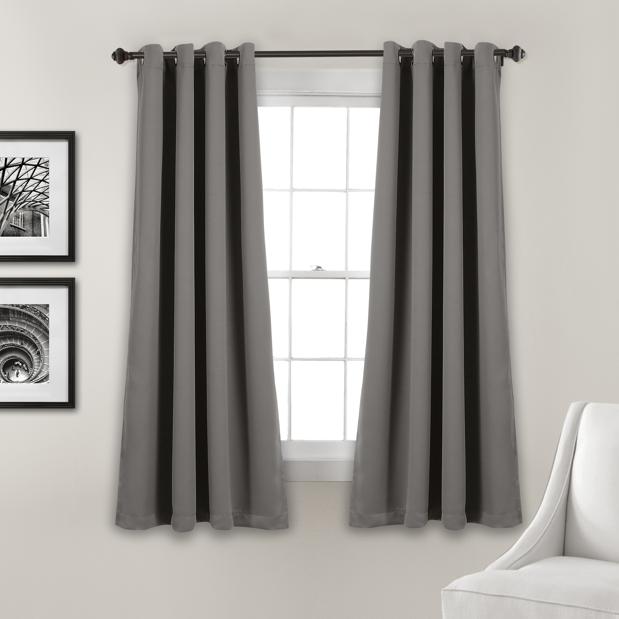 Famous Lush Décor Insulated Grommet Blackout Curtain Panels Pair In Insulated Grommet Blackout Curtain Panel Pairs (Gallery 17 of 20)