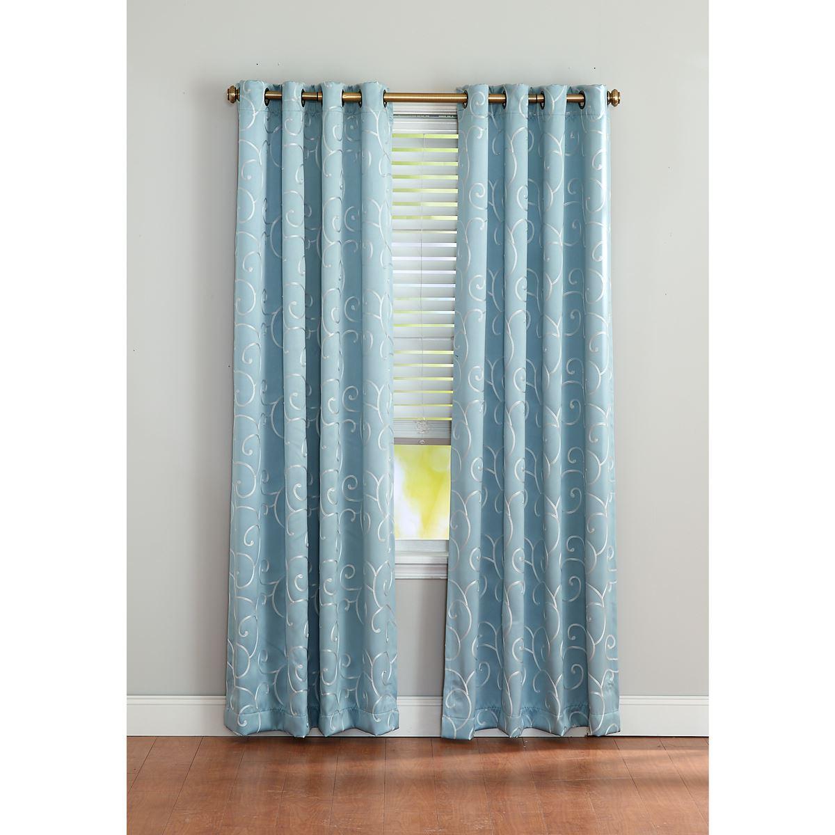 Famous Merrit Blackout Grommet Curtain Panel Intended For Blackout Grommet Curtain Panels (View 14 of 20)