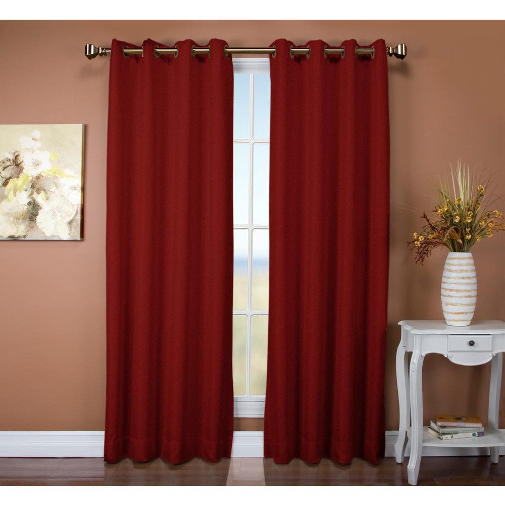 Famous Tacoma Double Blackout Grommet Curtain Panels For Ricardo Trading Tacoma 50 In. W X 96 In (View 6 of 20)