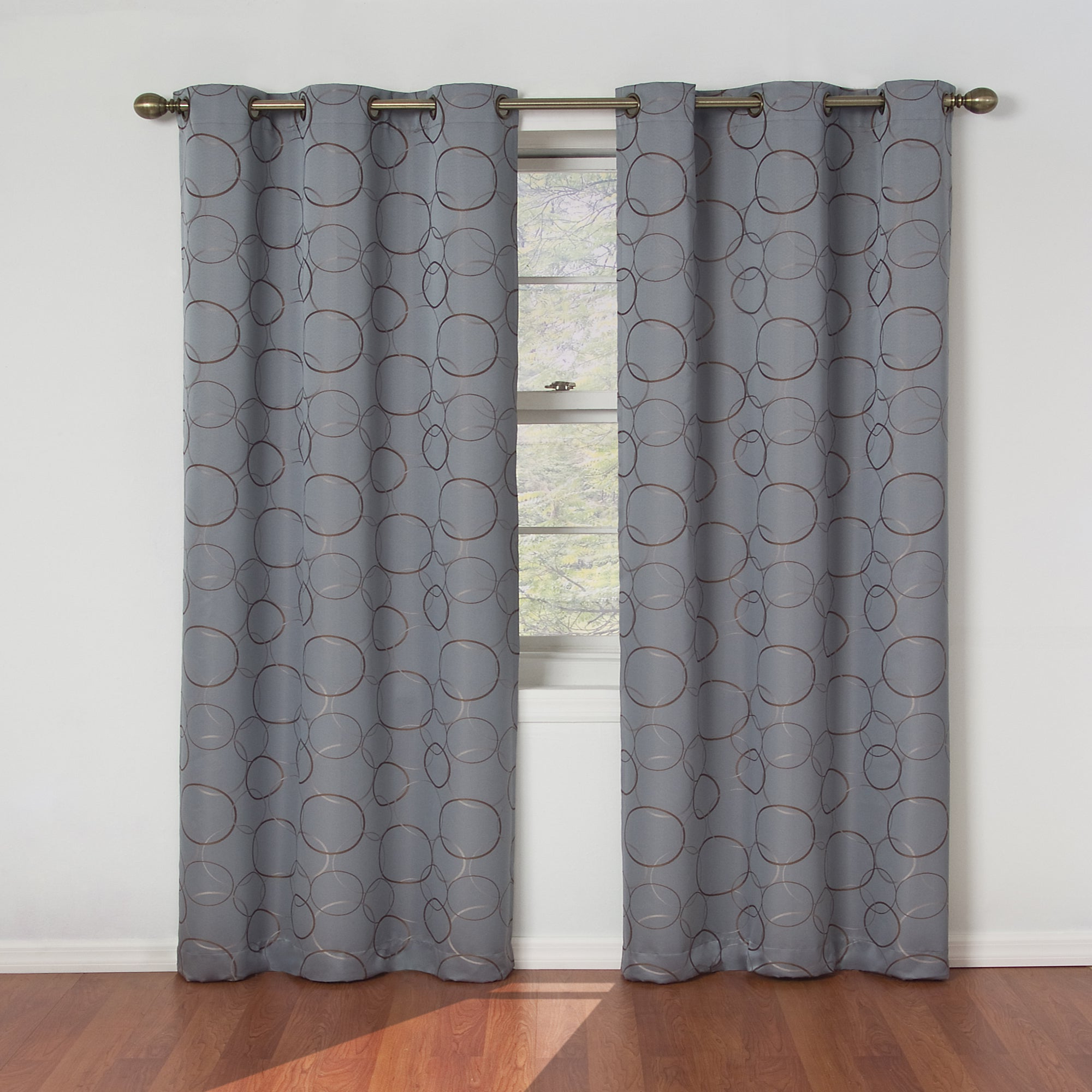 Fashionable Eclipse Meridian Blackout Window Curtain Panel Within Meridian Blackout Window Curtain Panels (Gallery 1 of 20)