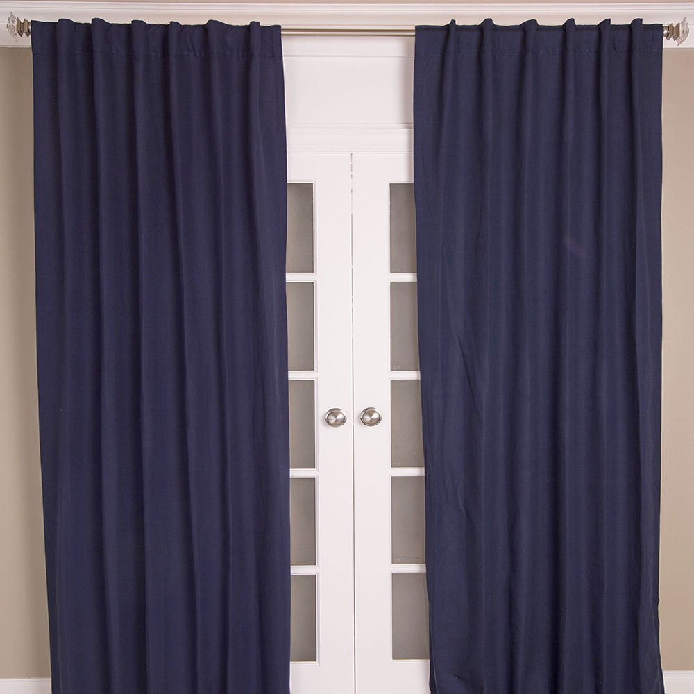 Fashionable India's Heritage Hayden Solid Blackout Rod Pocket Single Throughout Hayden Rod Pocket Blackout Panels (View 9 of 20)