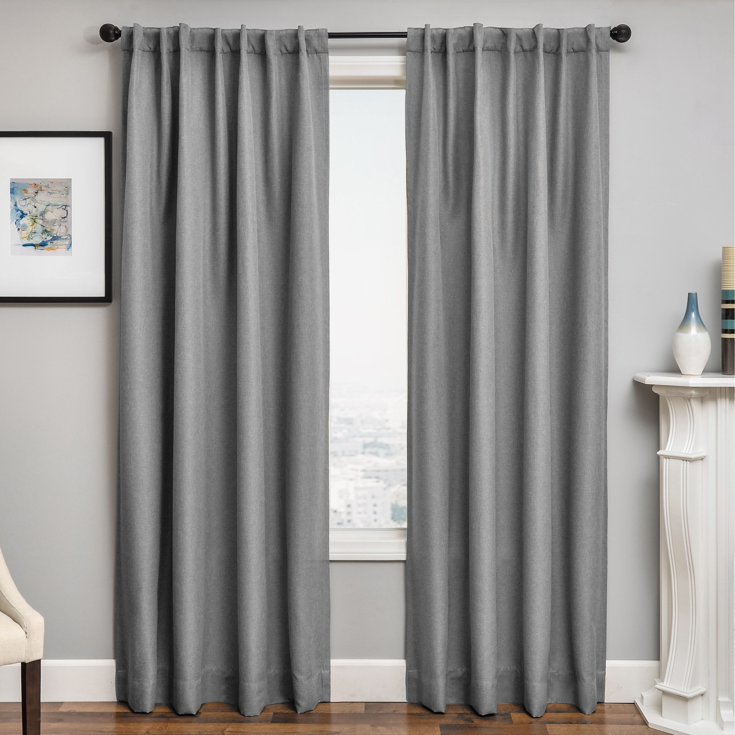 Fashionable Softline Solara Faux Linen Blackout Curtain Panel (54x84 With Regard To Faux Linen Blackout Curtains (View 18 of 20)
