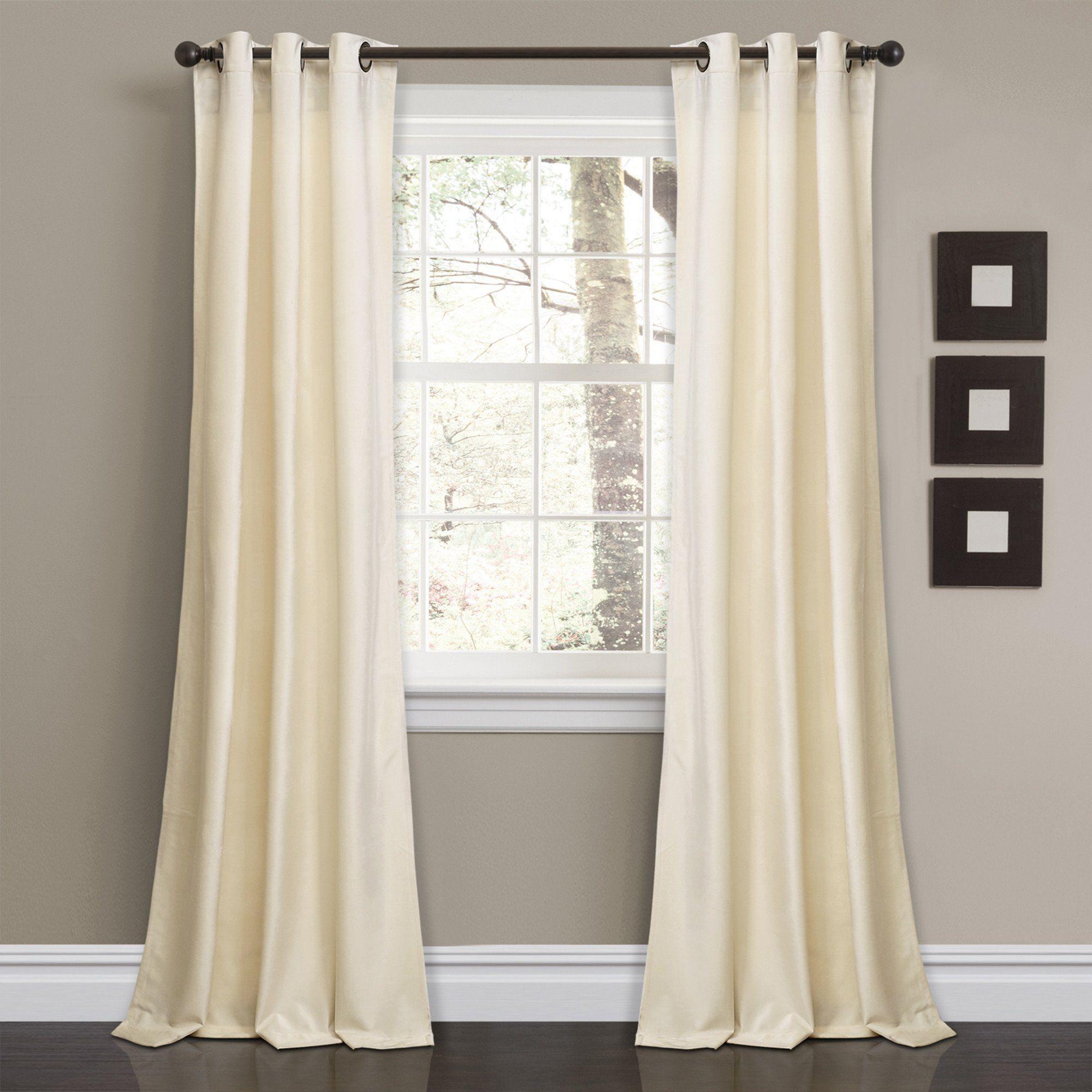 Fashionable Velvet Solid Room Darkening Window Curtain Panel Sets In Prima Velvet Solid Room Darkening Window Curtain Panel Set (View 2 of 20)