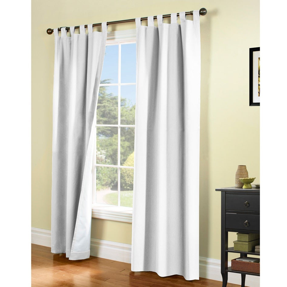 Fashionable Weathermate Insulated Cotton Curtain Panel Pair Within Insulated Cotton Curtain Panel Pairs (Gallery 1 of 20)