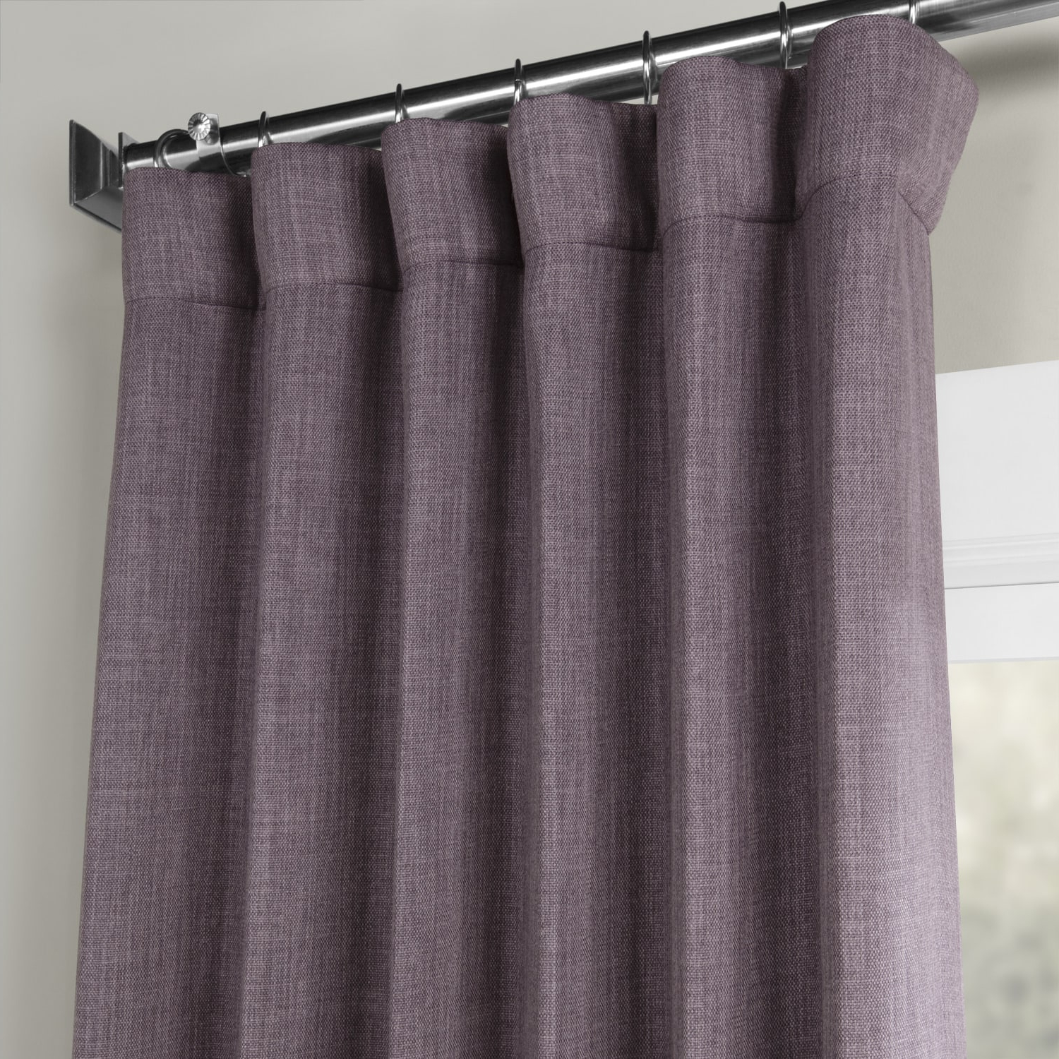 Faux Linen Blackout Curtains With Regard To 2020 Details About Faux Linen Blackout Curtains (Sold Per Panel) (Gallery 12 of 20)