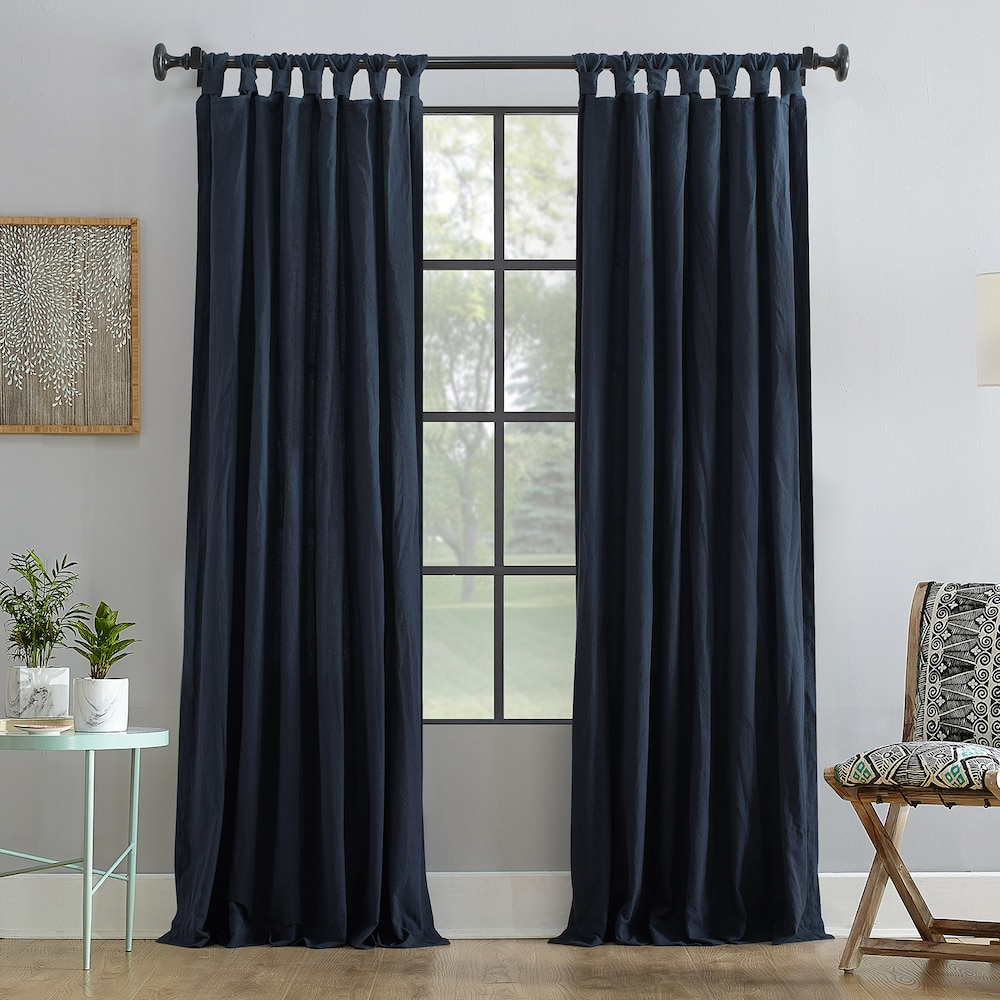 Favorite Archaeo Washed Cotton Twist Tab Single Curtain Panels Regarding Archaeo 1 Panel Washed Cotton Twist Tab Window Curtain (Gallery 9 of 20)