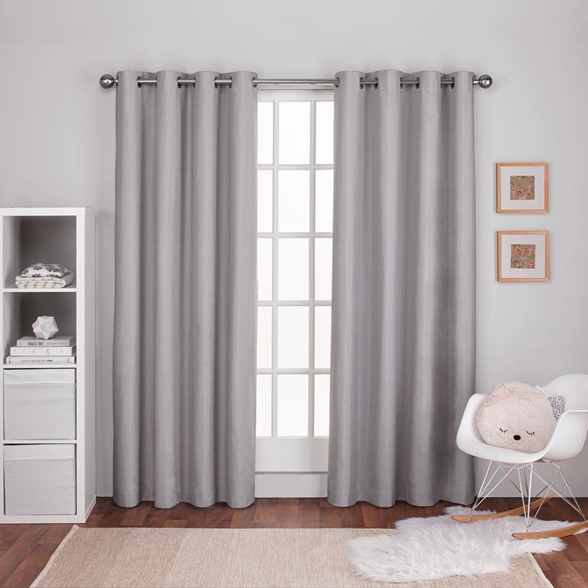 Favorite Ati Home Linen Thermal Woven Blackout Grommet Top Curtain Panel Pair In Thermal Woven Blackout Grommet Top Curtain Panel Pairs (Gallery 10 of 20)