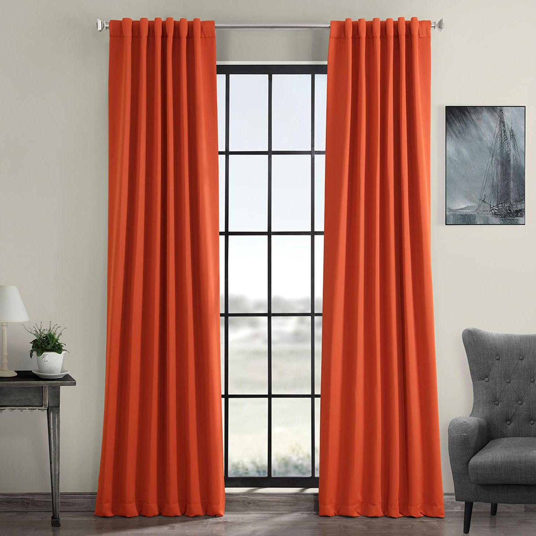 Favorite Blaze Blackout Curtain Regarding Mecca Printed Cotton Single Curtain Panels (View 19 of 21)