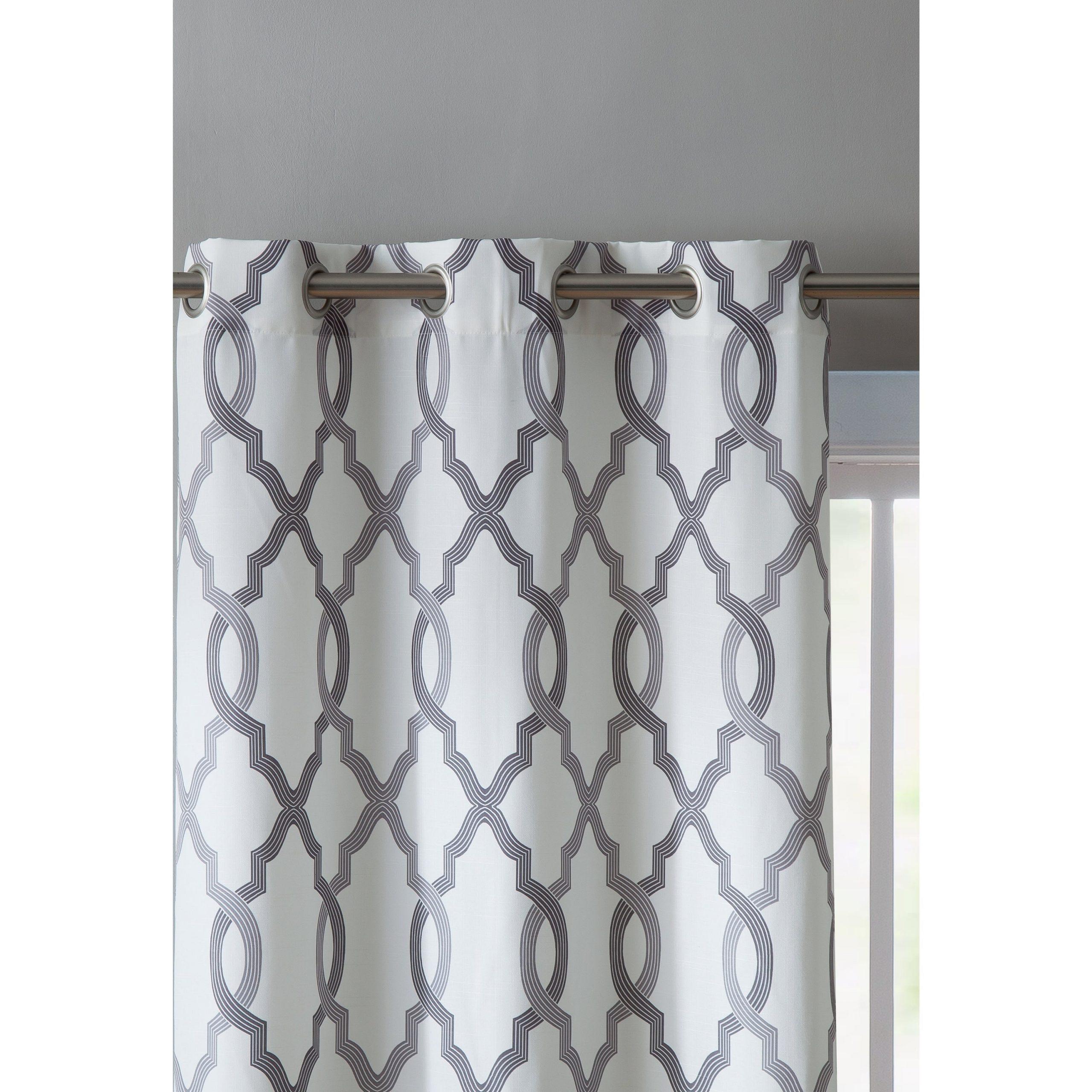 Favorite Caldwell Curtain Panel Pairs Inside Vcny Home Caldwell Curtain Panel Pair (View 10 of 20)