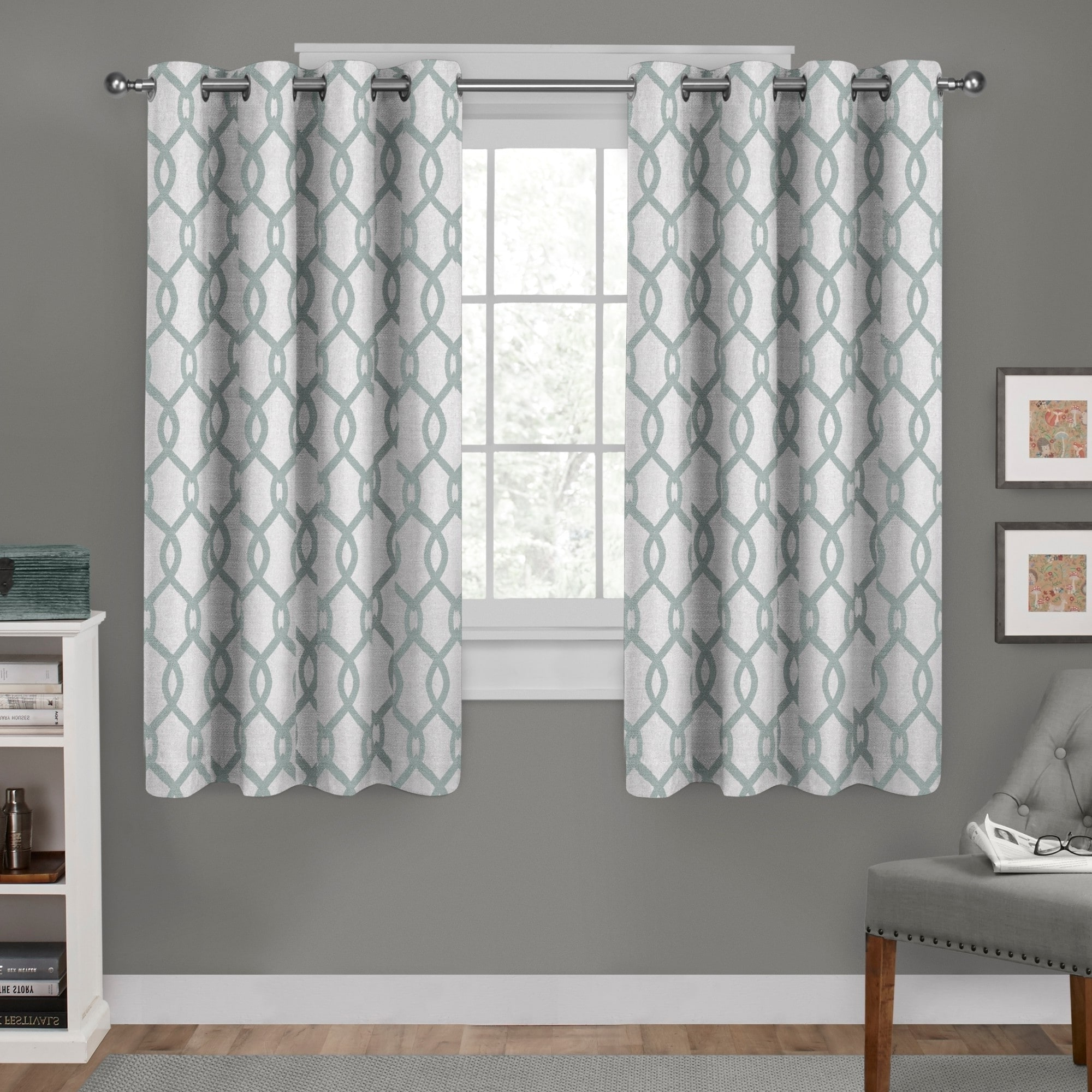 Favorite Exclusive Home Kochi Linen Blend Window Curtain Panel Pair With Grommet Top With Regard To Kochi Linen Blend Window Grommet Top Curtain Panel Pairs (View 5 of 20)