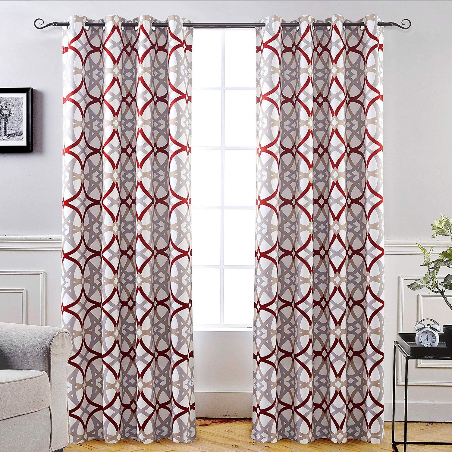 Favorite Insulated Blackout Grommet Window Curtain Panel Pairs For Carson Carrington Jarvenpaa Insulated Blackout Grommet Window Curtain Panel  Pair (Gallery 20 of 20)