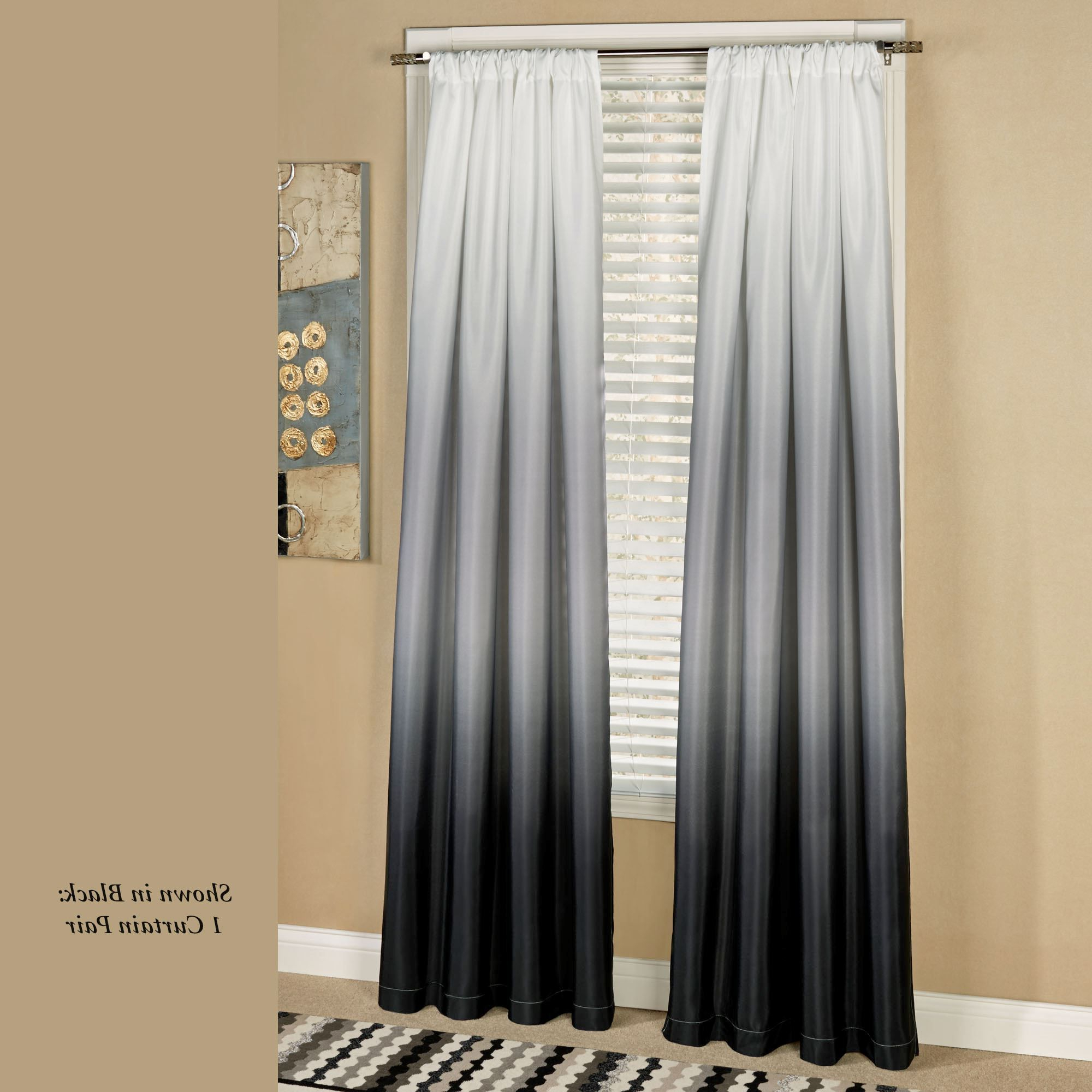 Favorite Shades Ombre Curtains (Gallery 14 of 20)