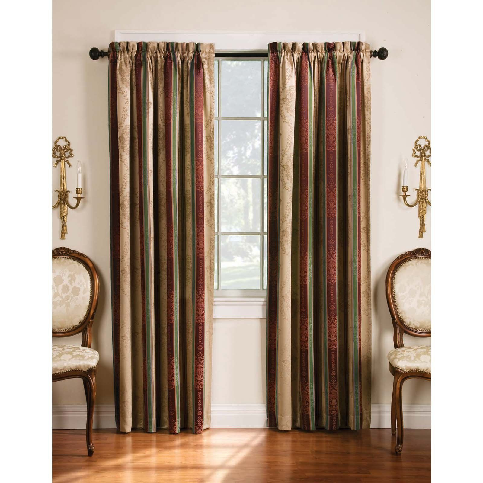 Featured Photo of Tuscan Thermal Backed Blackout Curtain Panel Pairs
