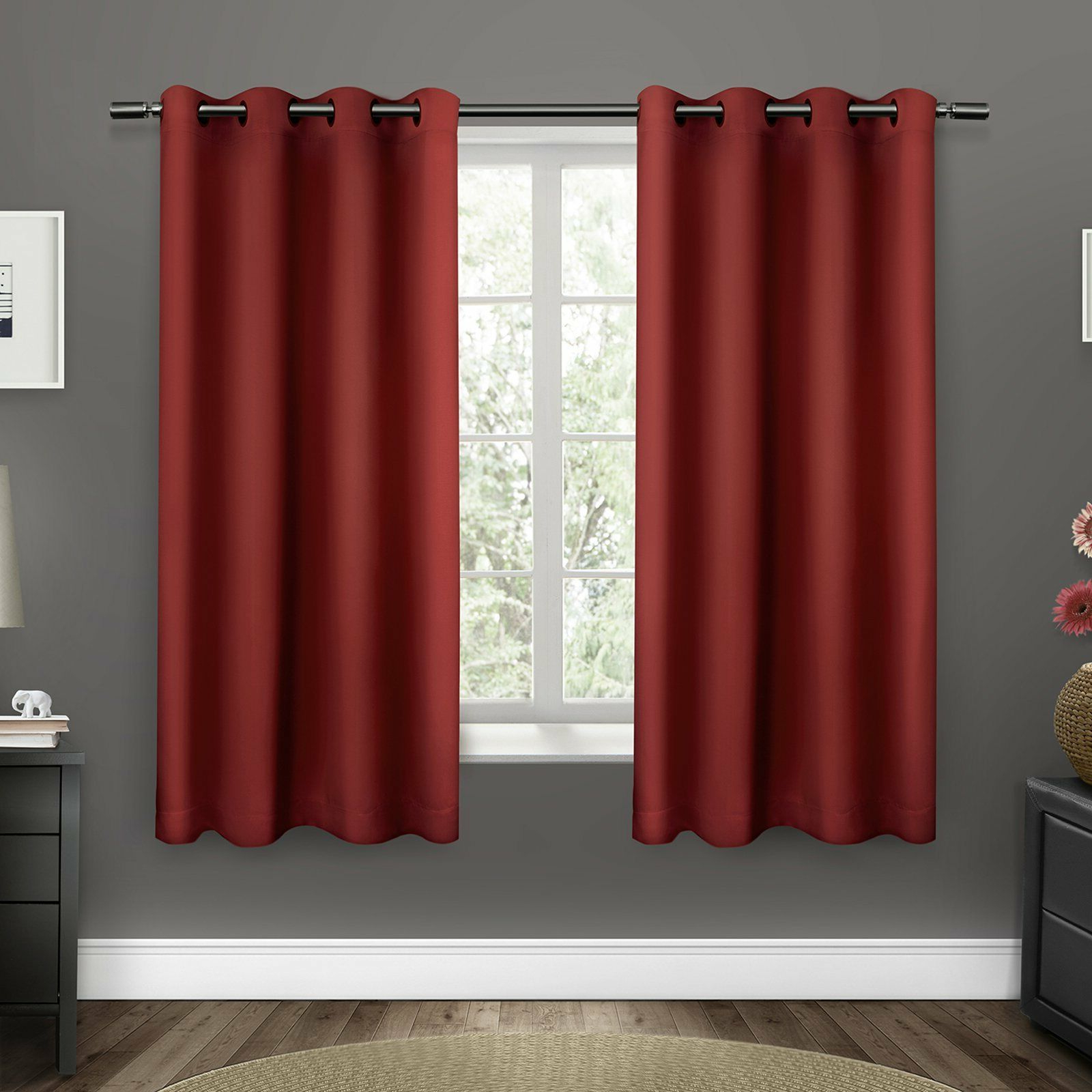 Favorite Upc 642472006601 – Exclusive Home Sateen Twill Weave Grommet For Sateen Twill Weave Insulated Blackout Window Curtain Panel Pairs (Gallery 16 of 20)