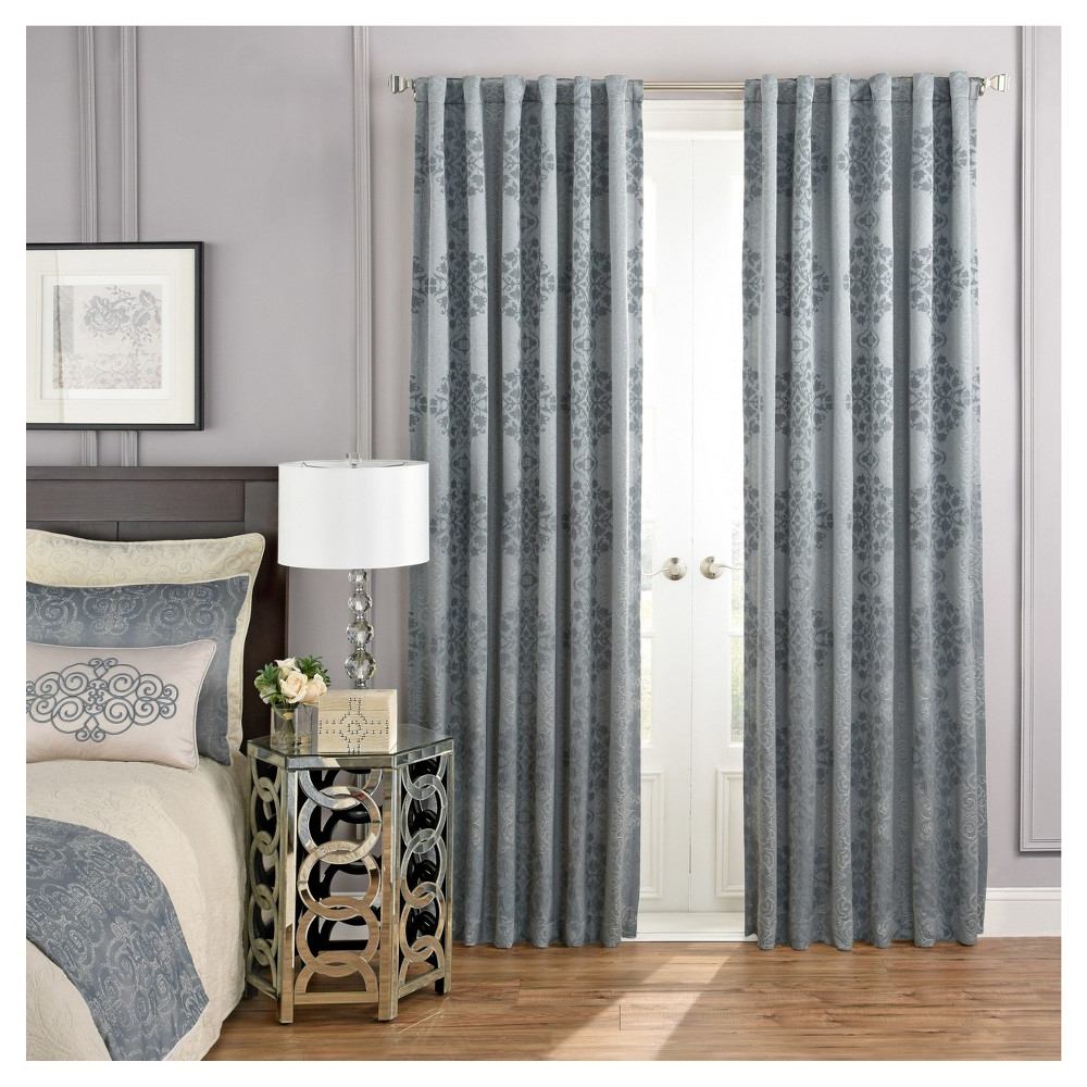 French Within Cyrus Thermal Blackout Back Tab Curtain Panels (Gallery 17 of 20)