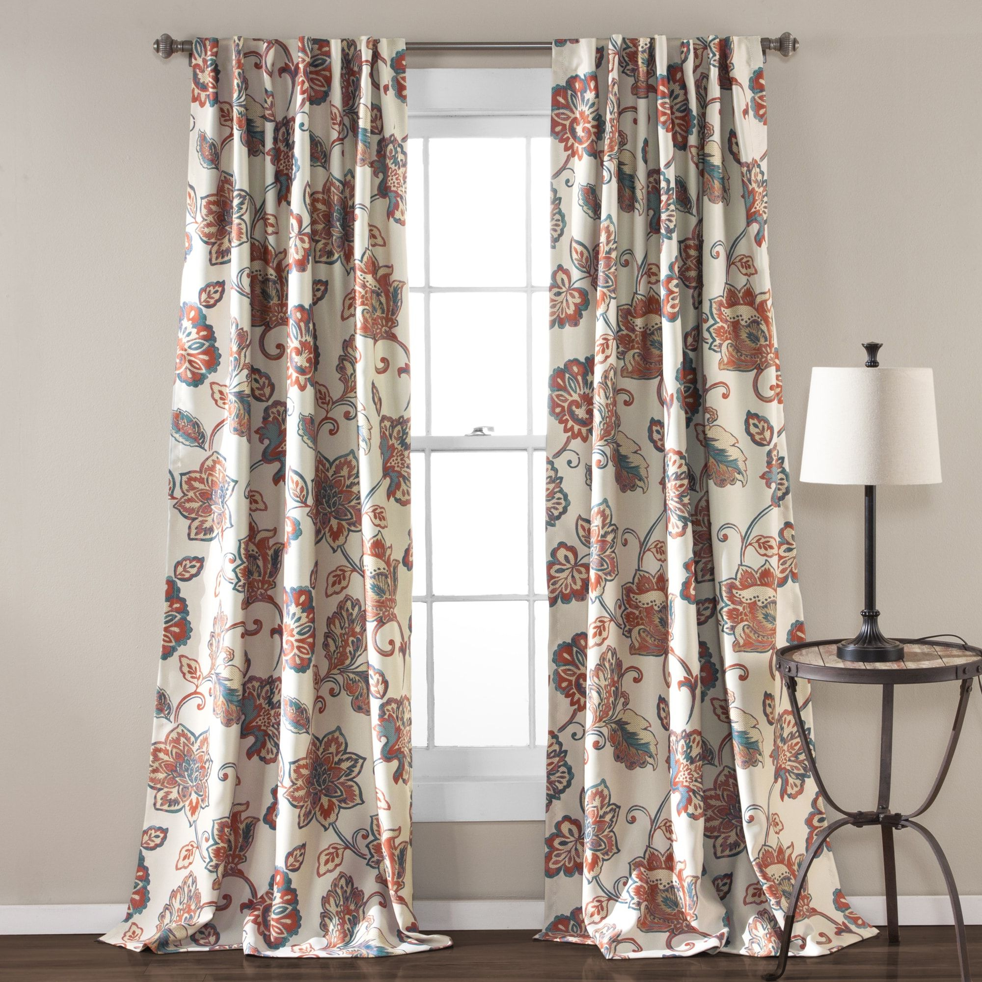 Gray Barn Dogwood Floral Curtain Panel Pairs Regarding Most Current The Gray Barn Dogwood Floral Curtain Panel Pair (aster (View 2 of 20)