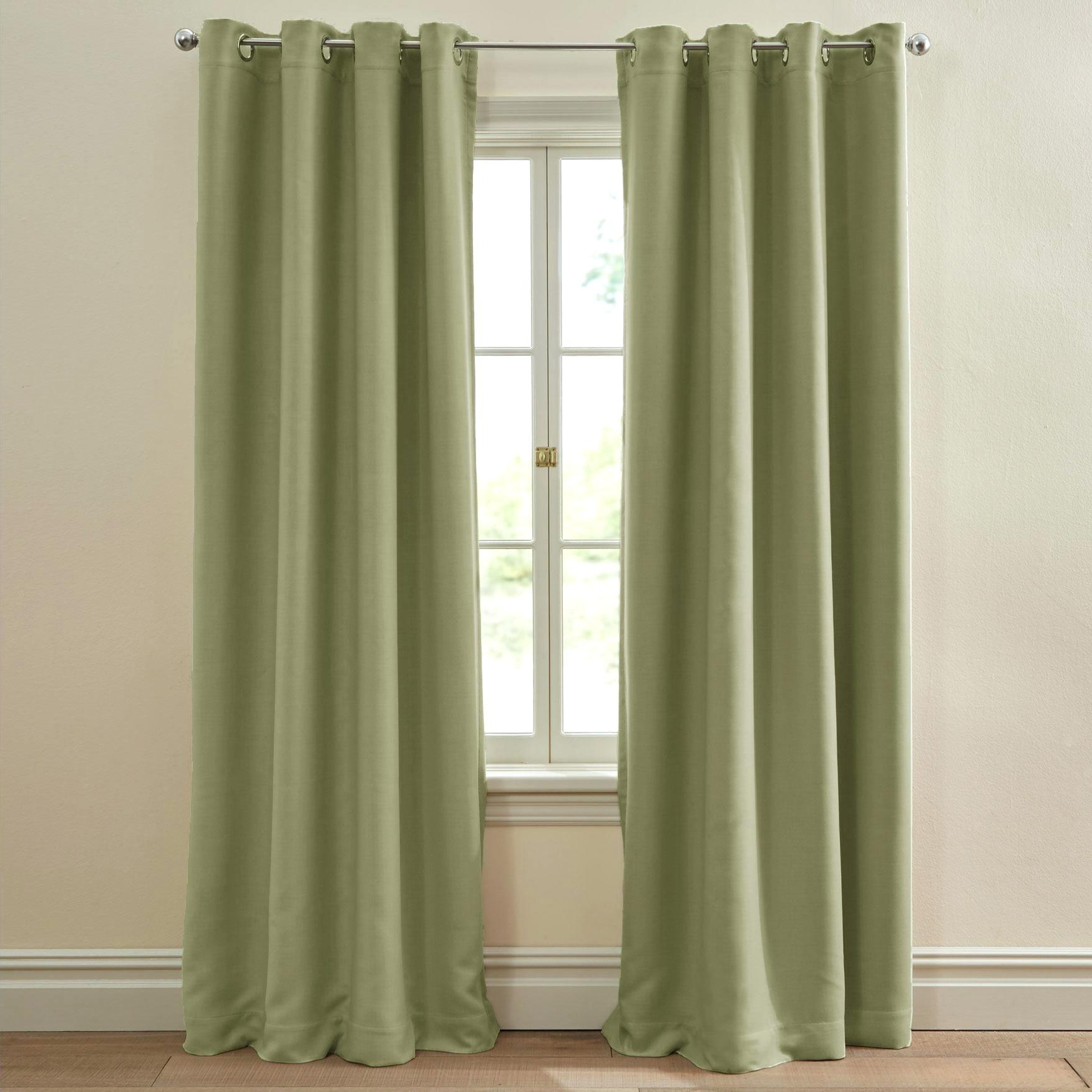 Gromet Panel Curtains – Bshteam (View 16 of 20)